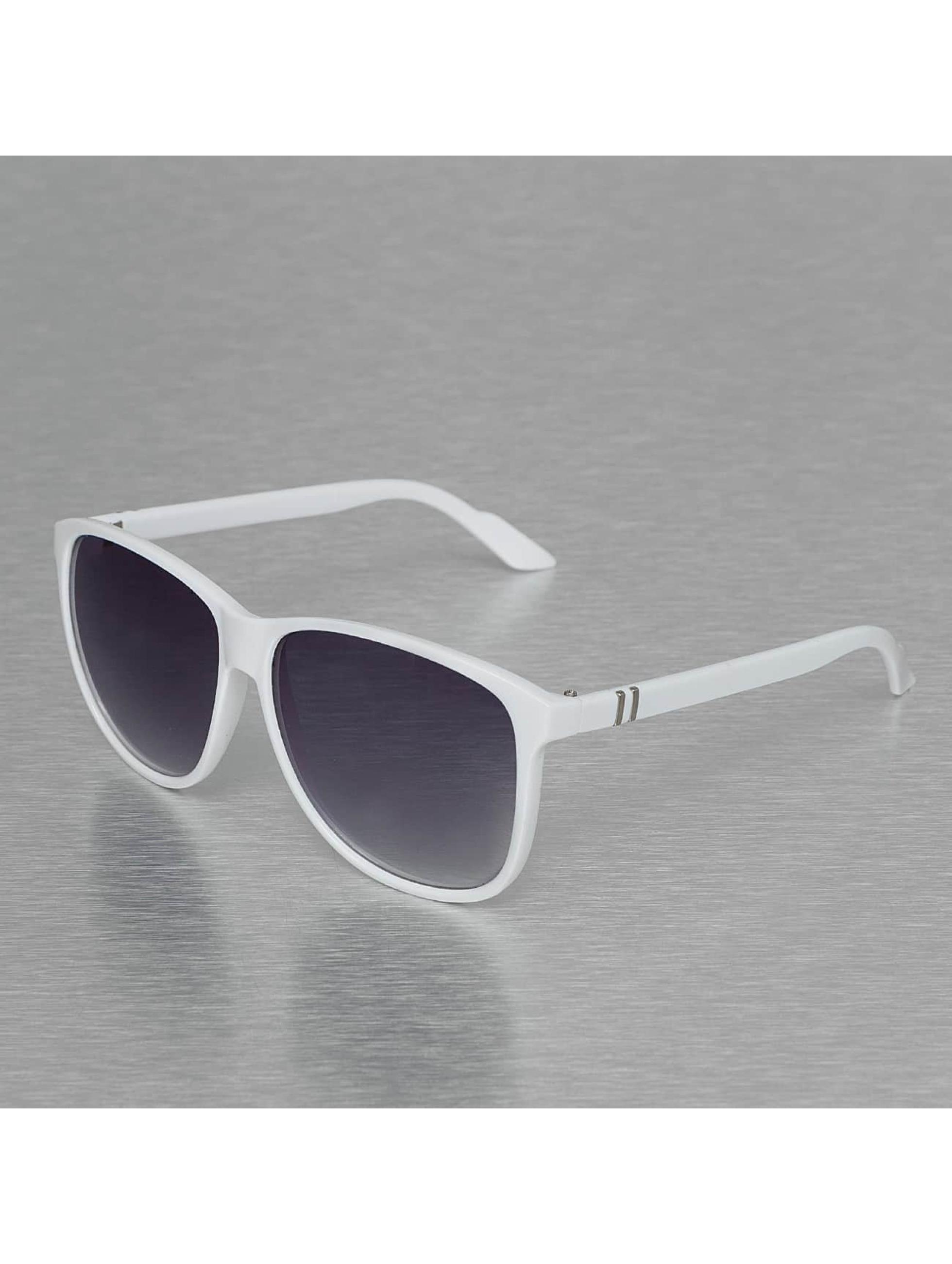 MSTRDS Männer,Frauen Sonnenbrille Lundu in weiß