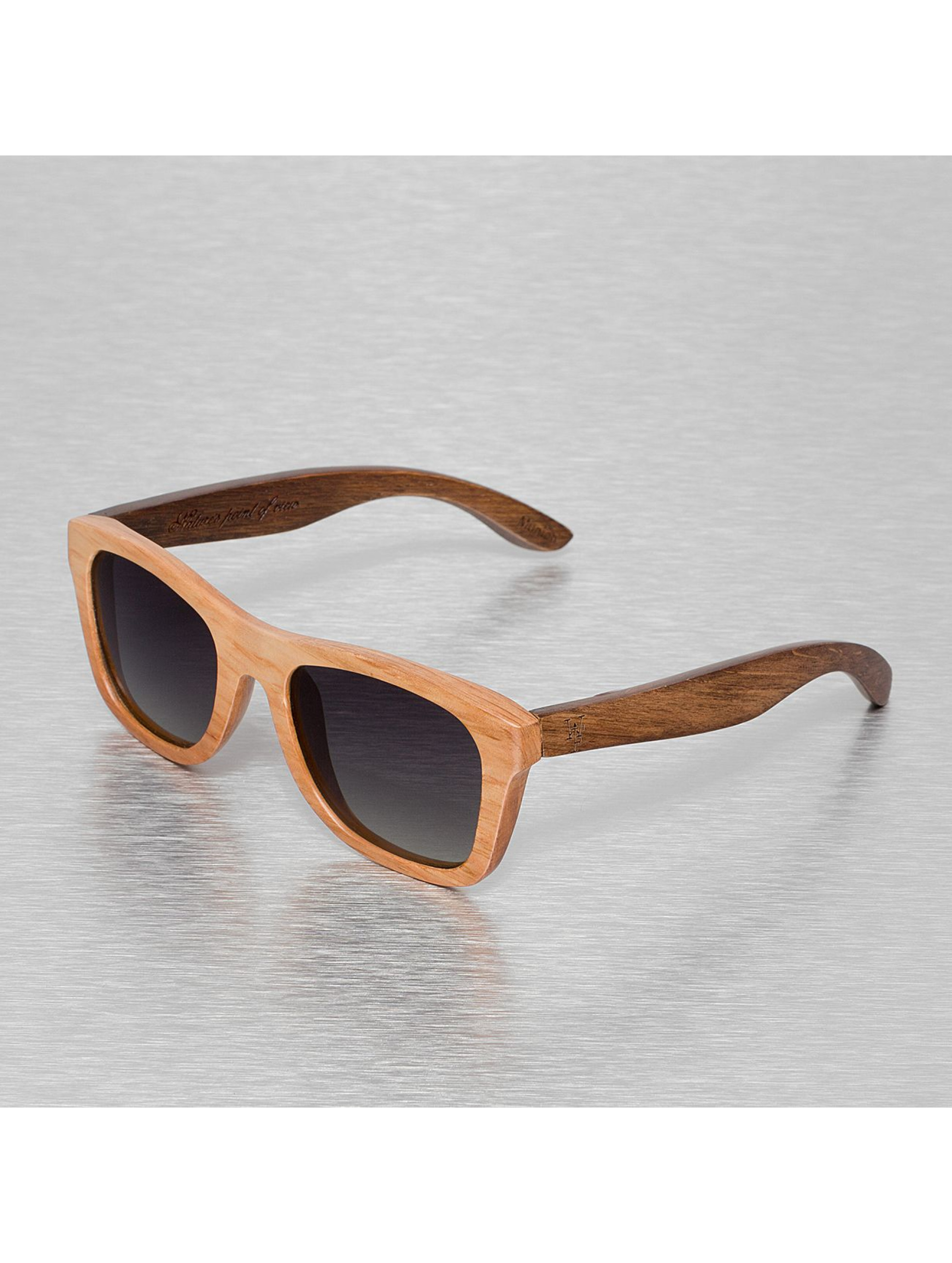 Wood Fellas Eyewear Männer,Frauen Sonnenbrille Wood Fellas Jalo in braun