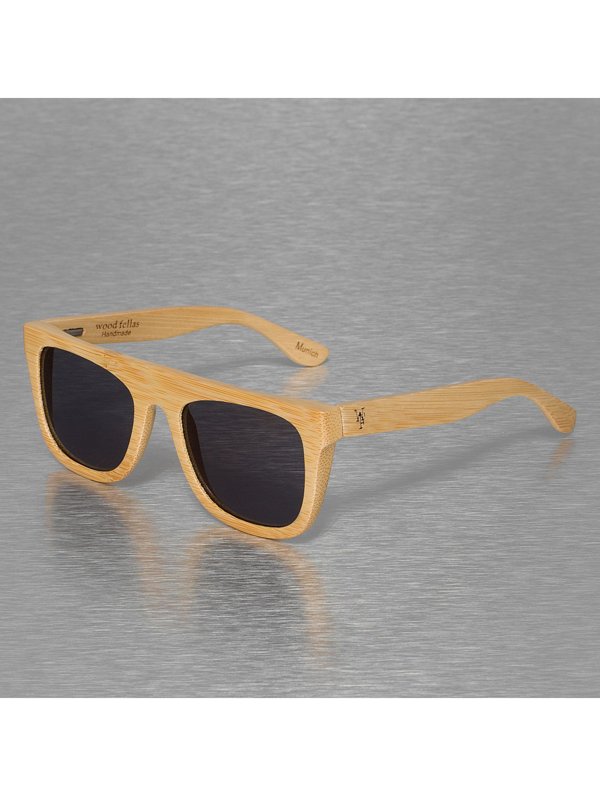 Wood Fellas Eyewear Männer,Frauen Sonnenbrille Wood Fellas Mino in braun