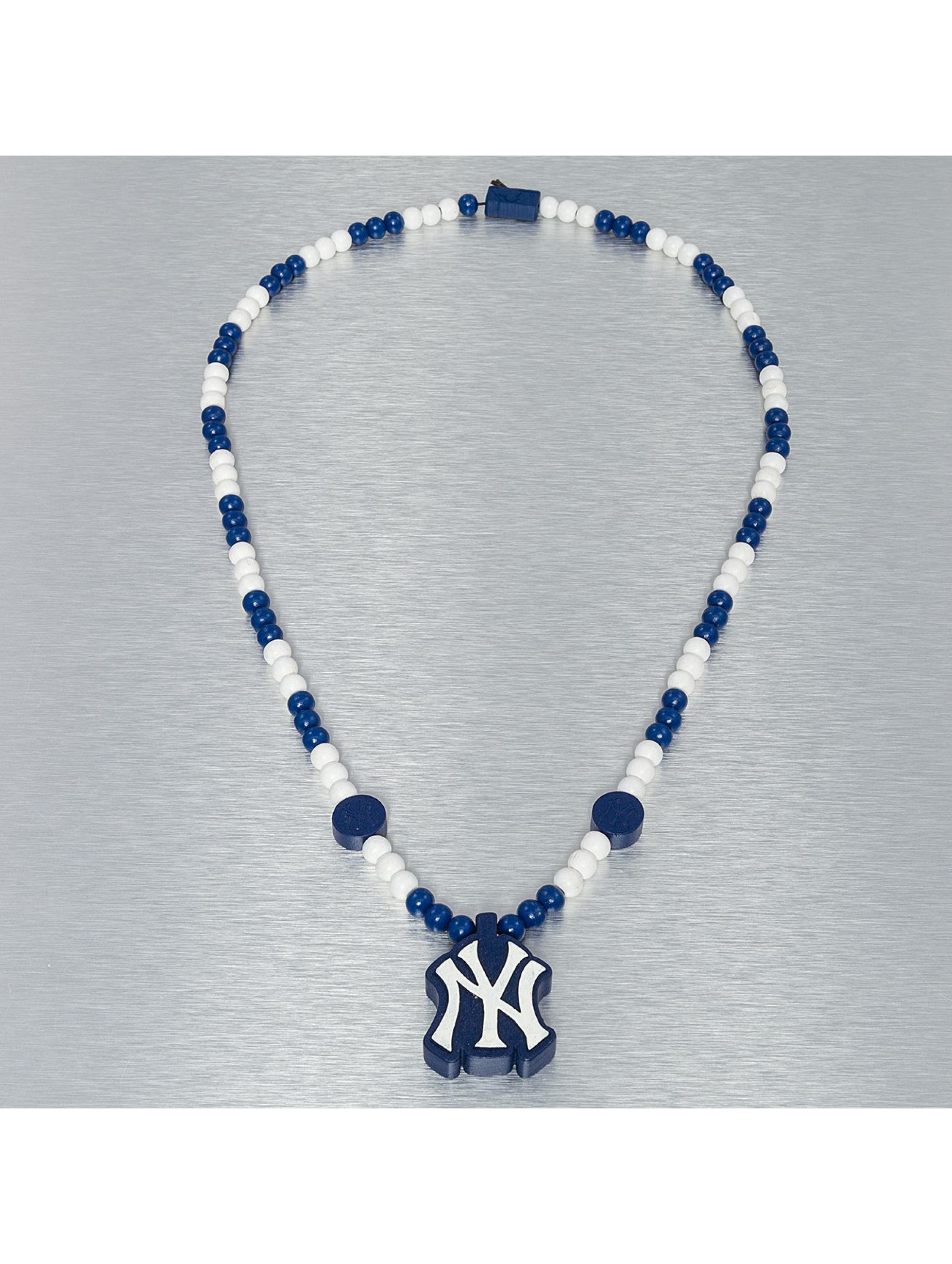 Wood Fellas Männer,Frauen Kette MLB Wood Fellas NY Yankees in blau
