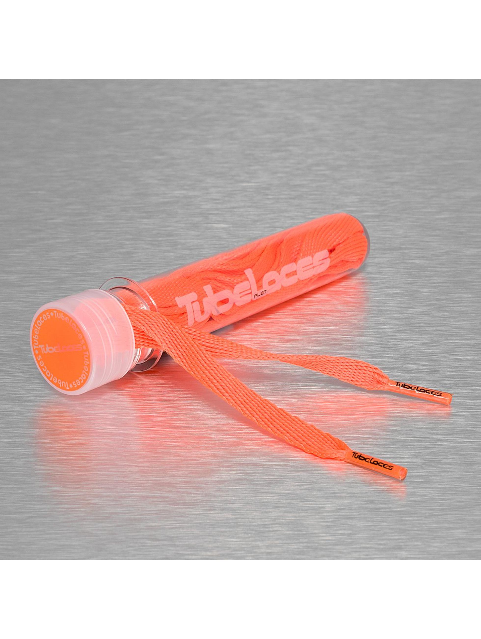 Tubelaces Männer,Frauen Schuhzubehör Flat Laces 140cm in orange