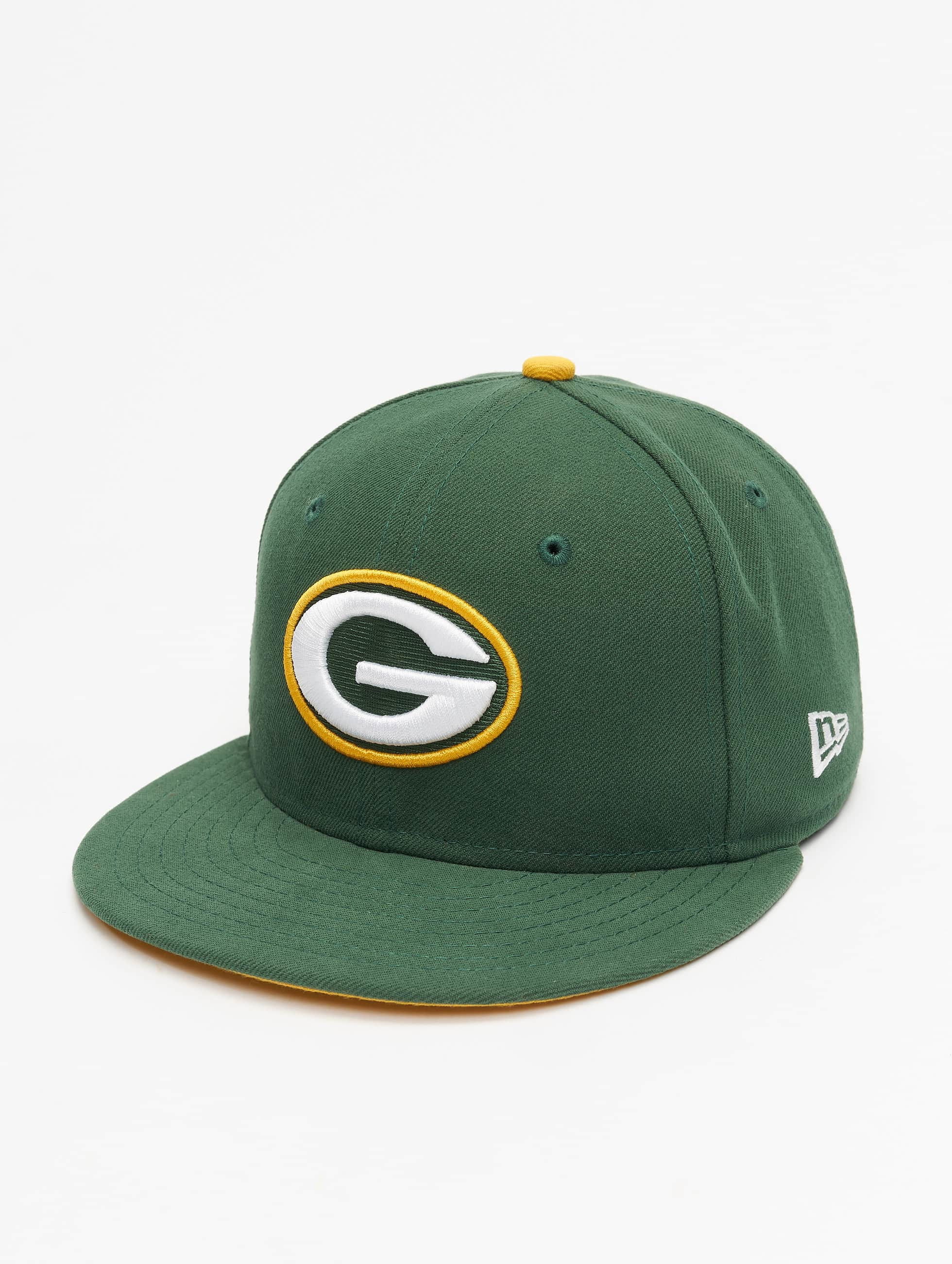 New Era Männer,Frauen Fitted Cap NFL On Field Green Bay Packers 59Fifty in grün