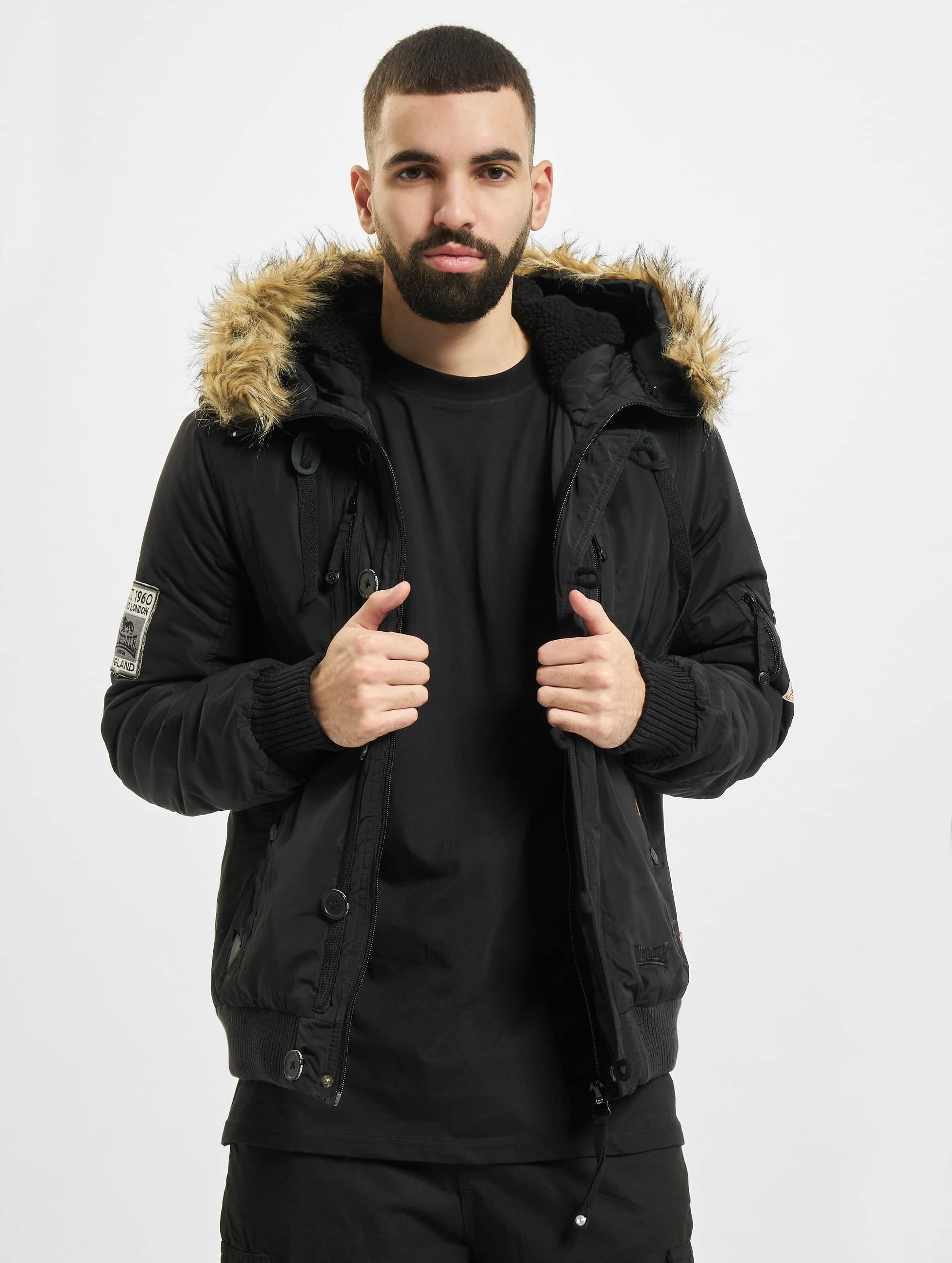 Lonsdale London Jarreth Winter Jacket Black