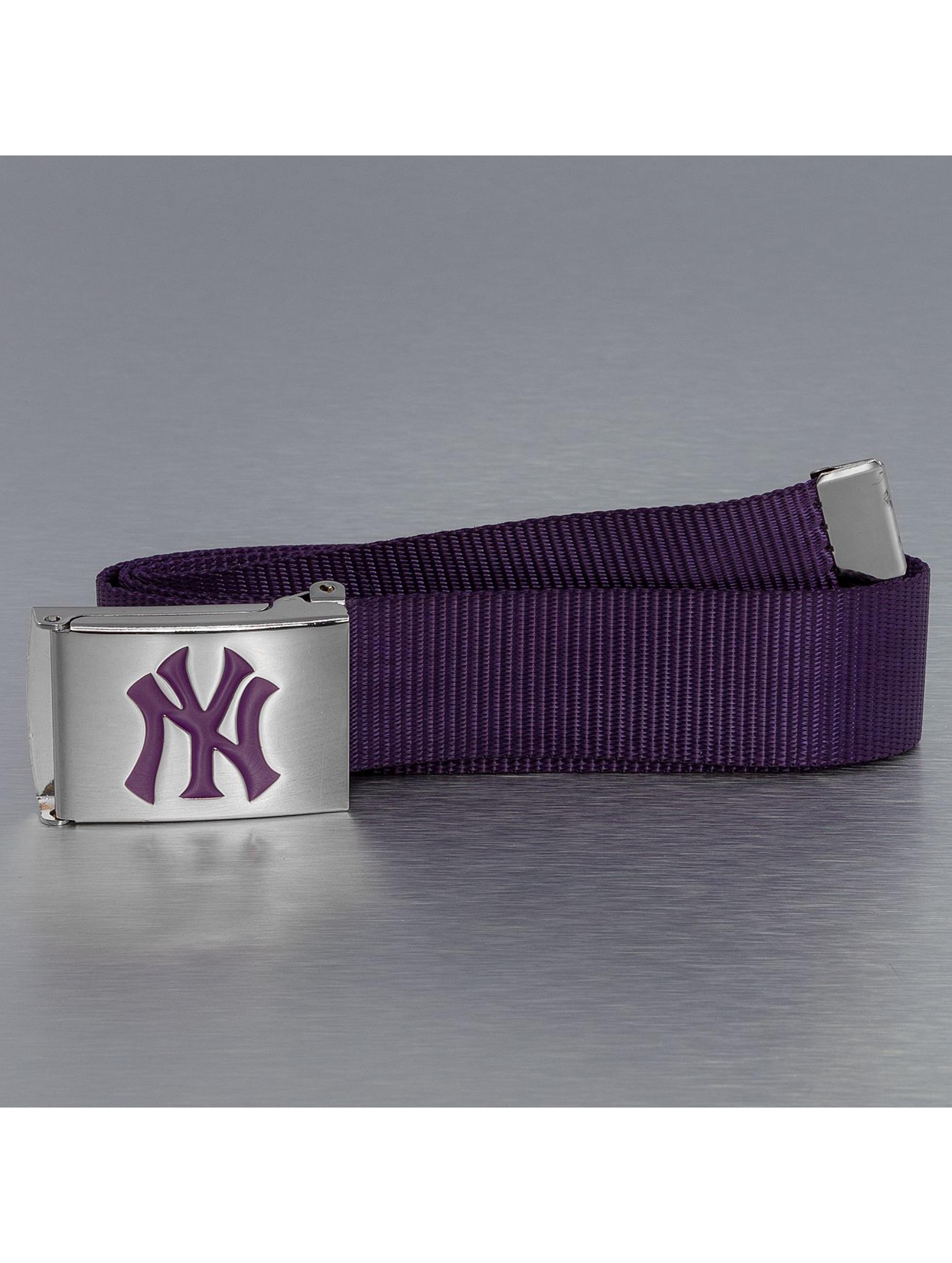 MLB Männer,Frauen Gürtel MLB NY Yankees Premium Woven Single in violet