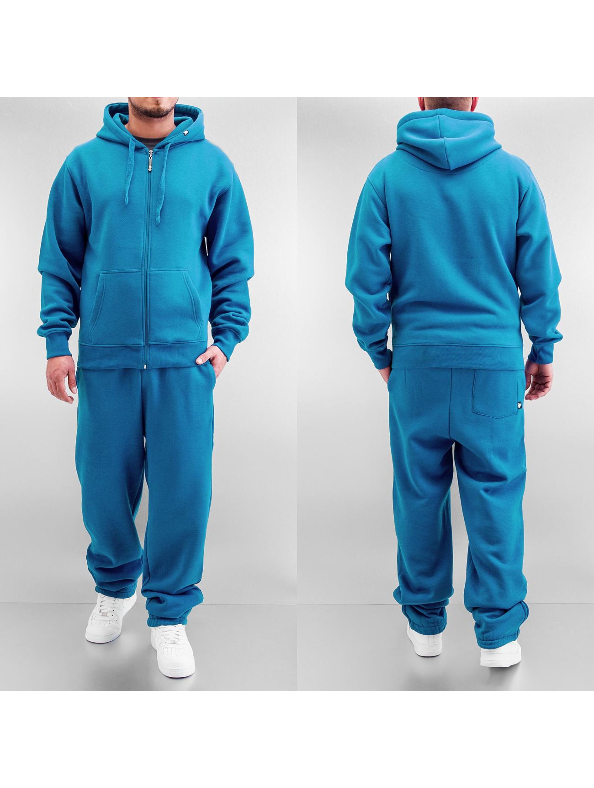 Dangerous DNGRS Basic Sweat Suit Blue Jewel