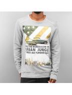Urban Surface Urban Jungle Sweatshirt Grey Melange kopen in de aanbieding