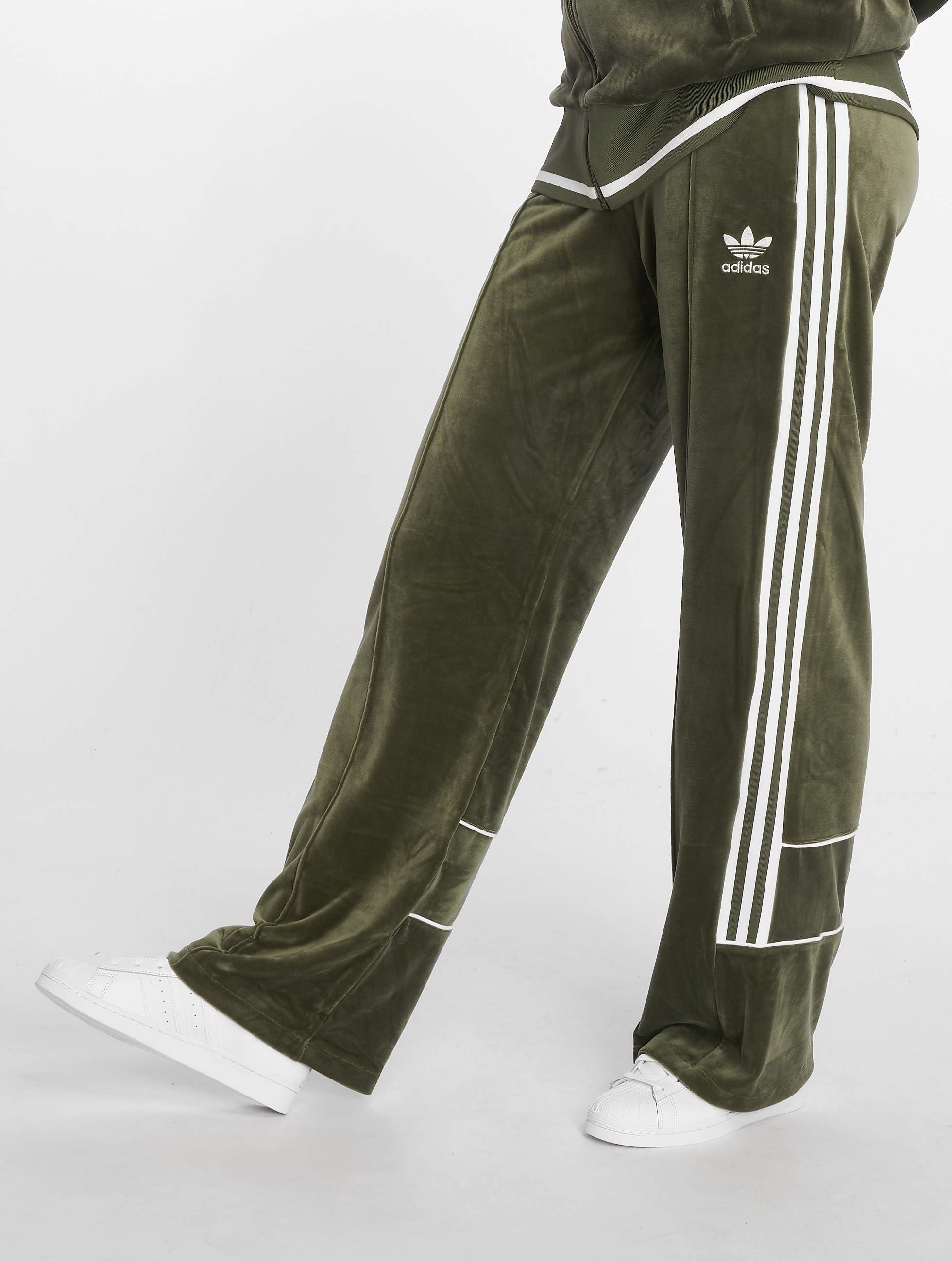 Joggingbroek Groen.Adidas Originals Broek Joggingbroek Track In Groen 499491