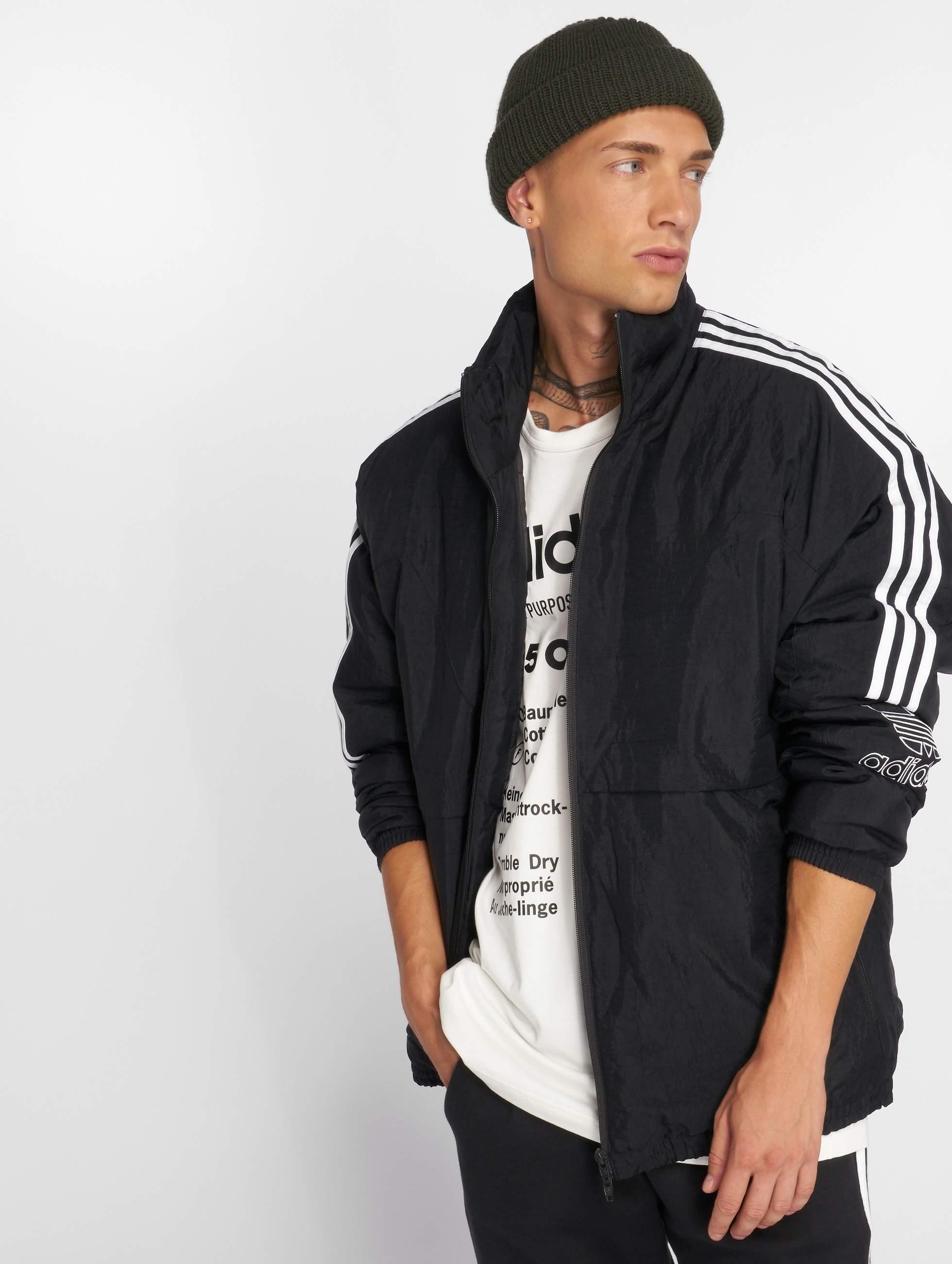 Originals Outline Lg Manteau Adidas Noir 499907 Homme Hiver Tref BaRxd4xwq