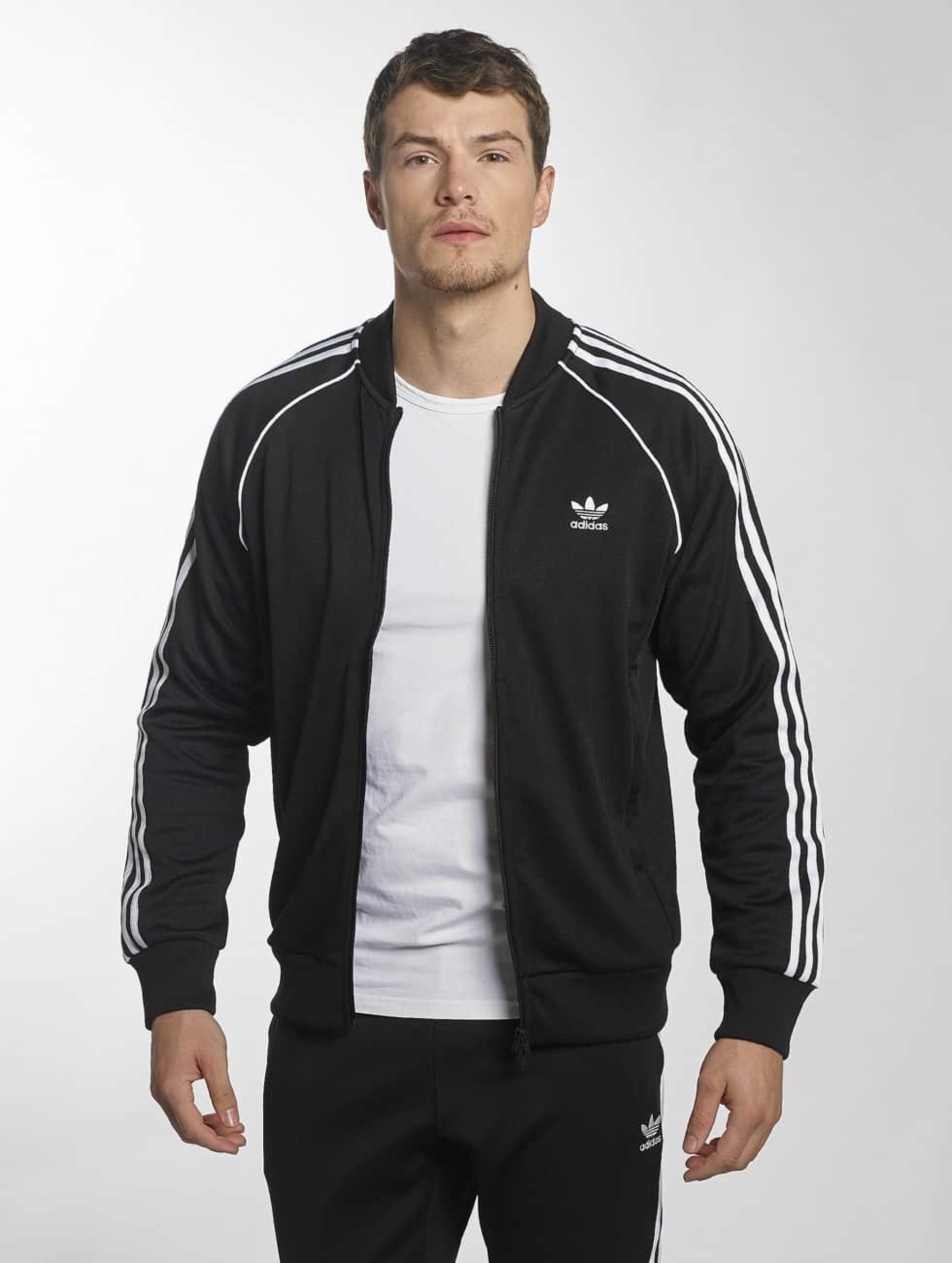 adidas Superstar Track Jacket Black