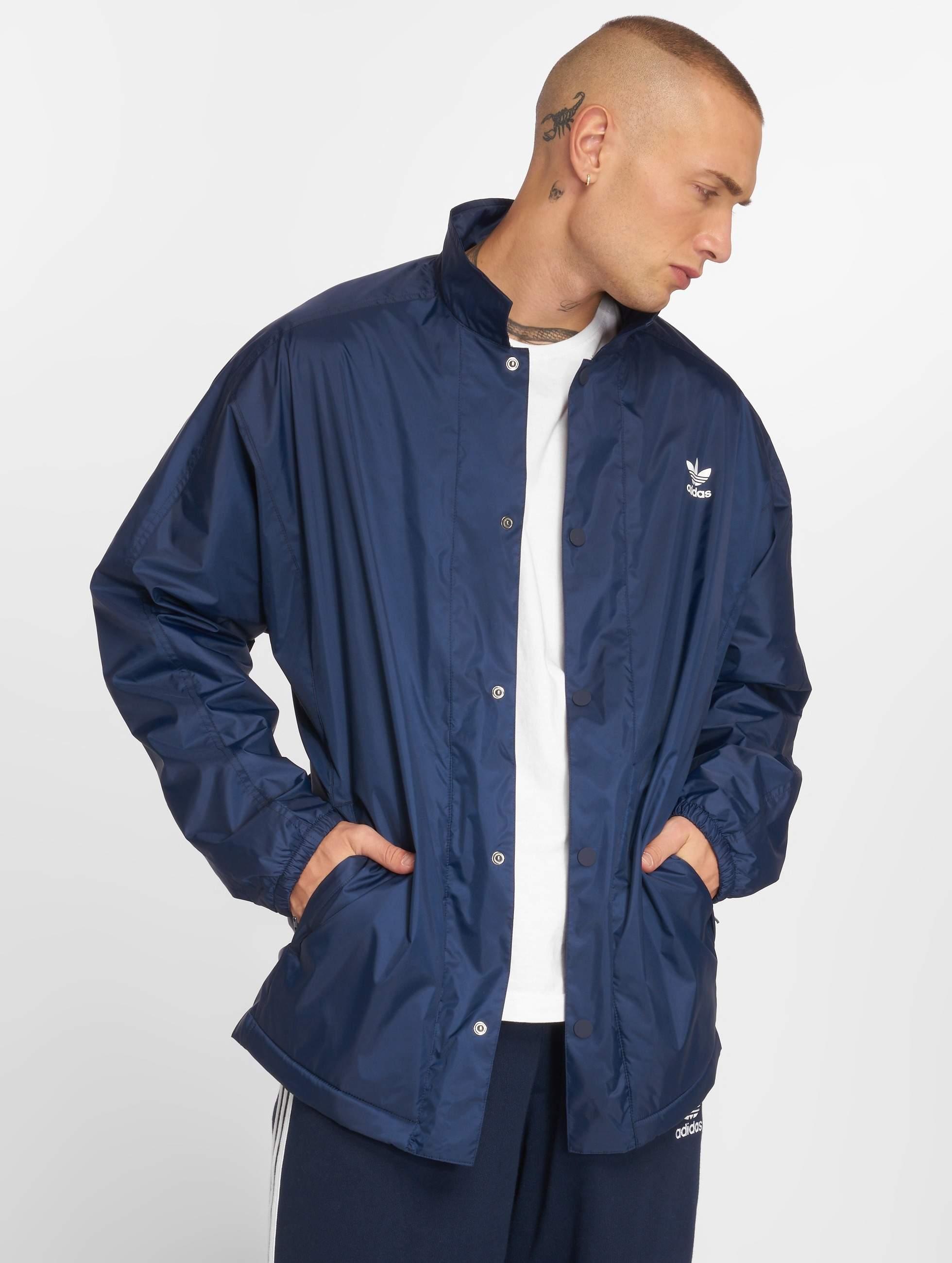 Adidas Originals Wntr Coach Jckt Transition Jacket Collegiate Navy
