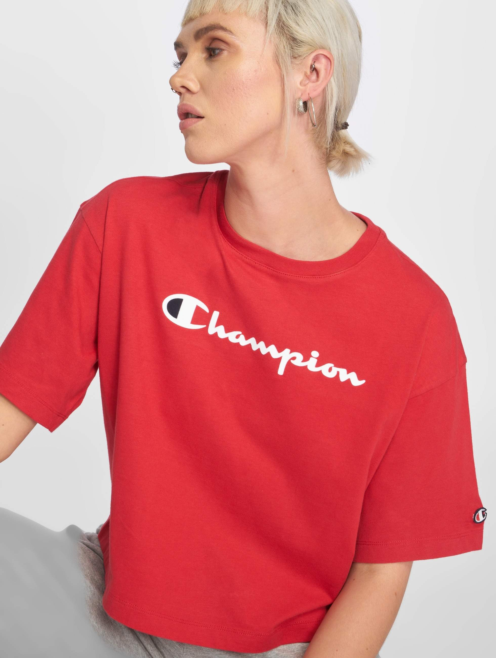 Bovenstuk Athletics Logo 529319 Shirt Rood T In Champion zPnWqSHcH