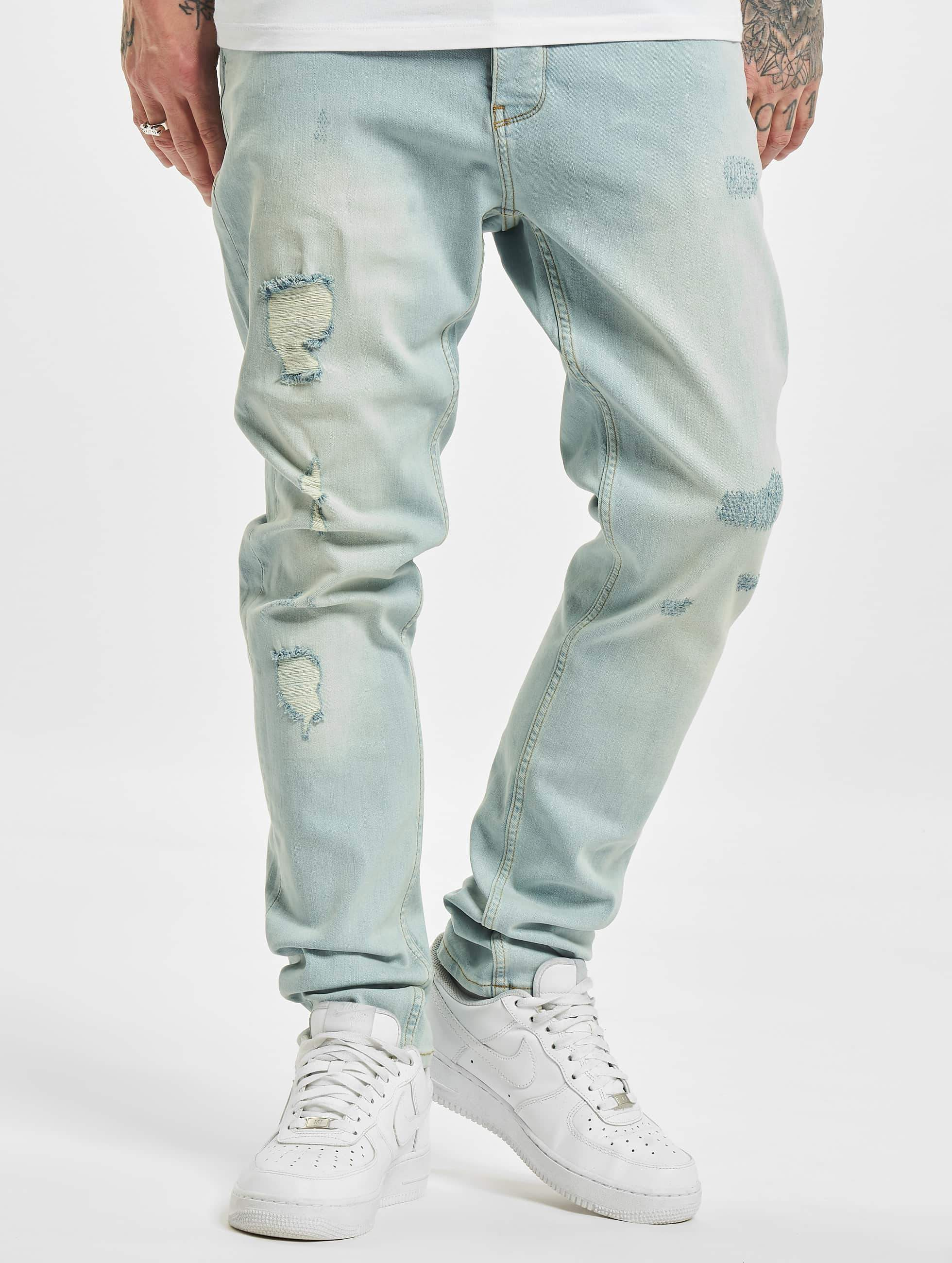 a8528a45941cc DEF Antoine Antifit Jeans Light Blue Denim