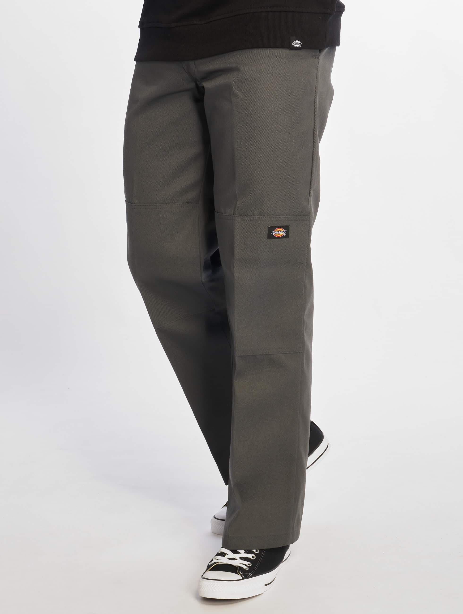 Dickies Double Knee Work Chino Pants Charcoal
