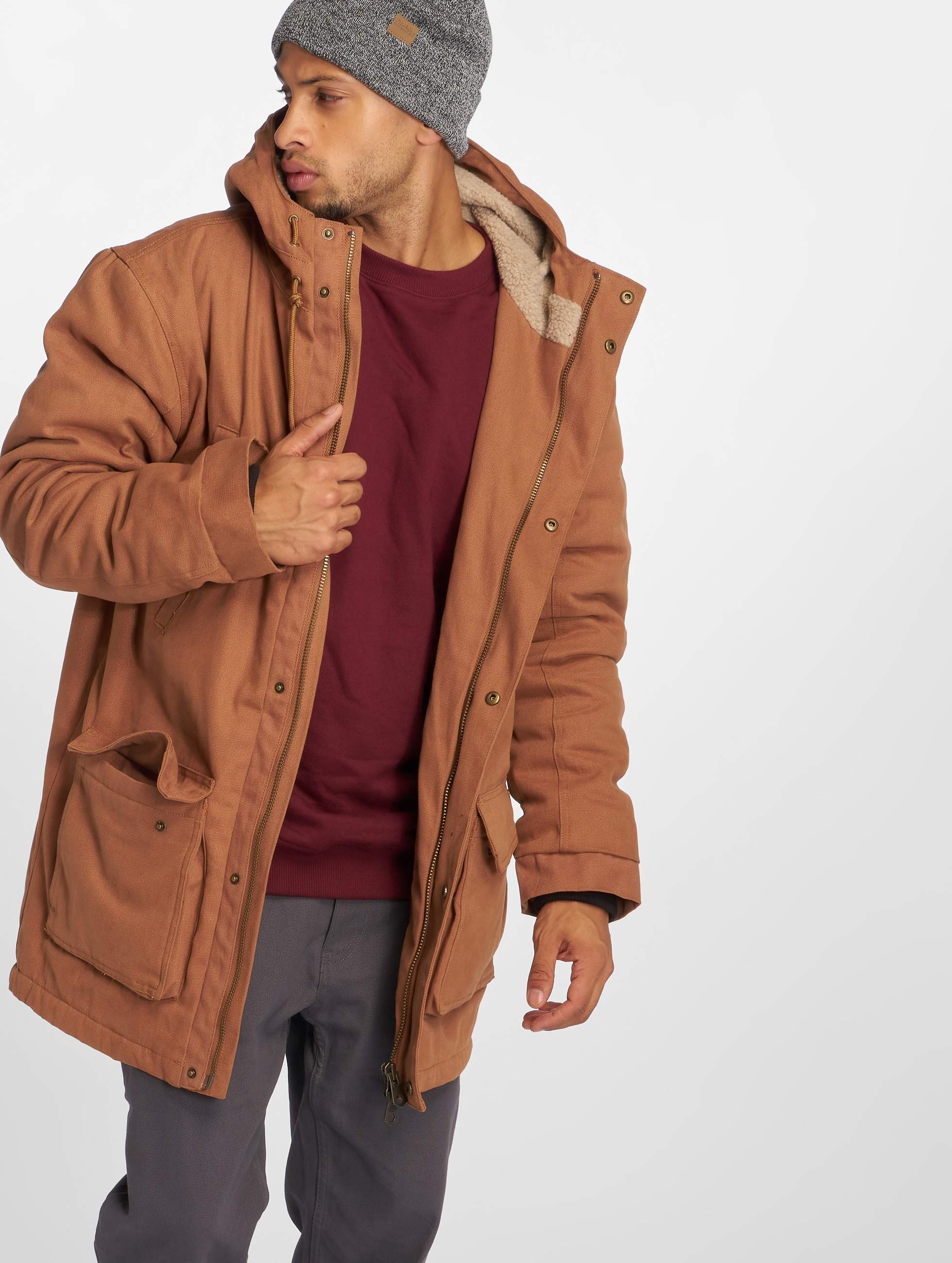 new product 866bd 2f94f Dickies Kenbridge Parka Jacket Pecan