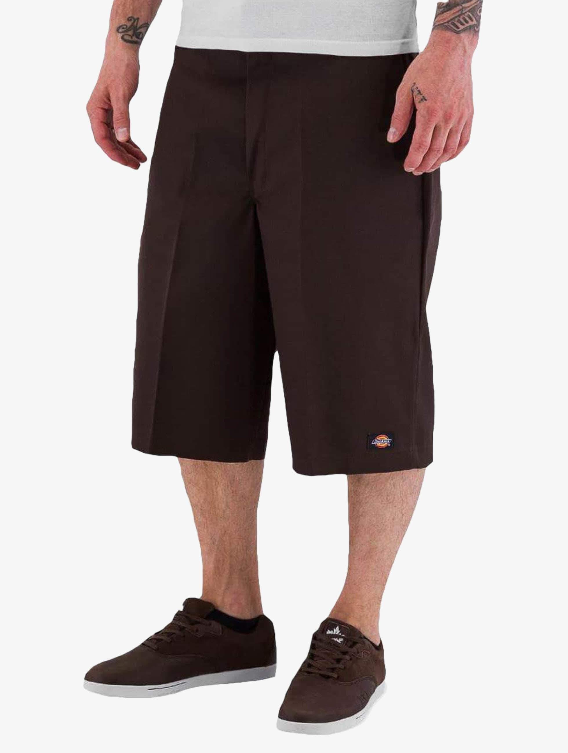Dickies 13in Multi Use Pocket Work Shorts Dark Brown