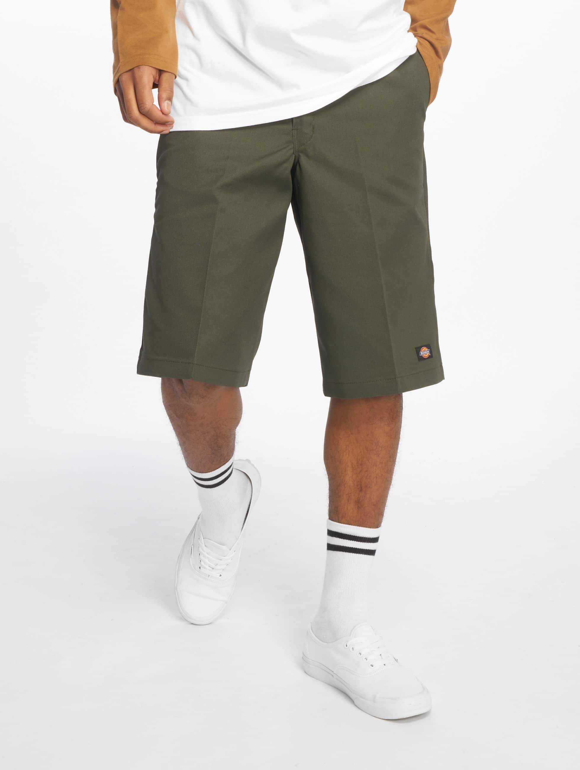 Dickies 13in Multi Use Pocket Work Shorts Olive Green