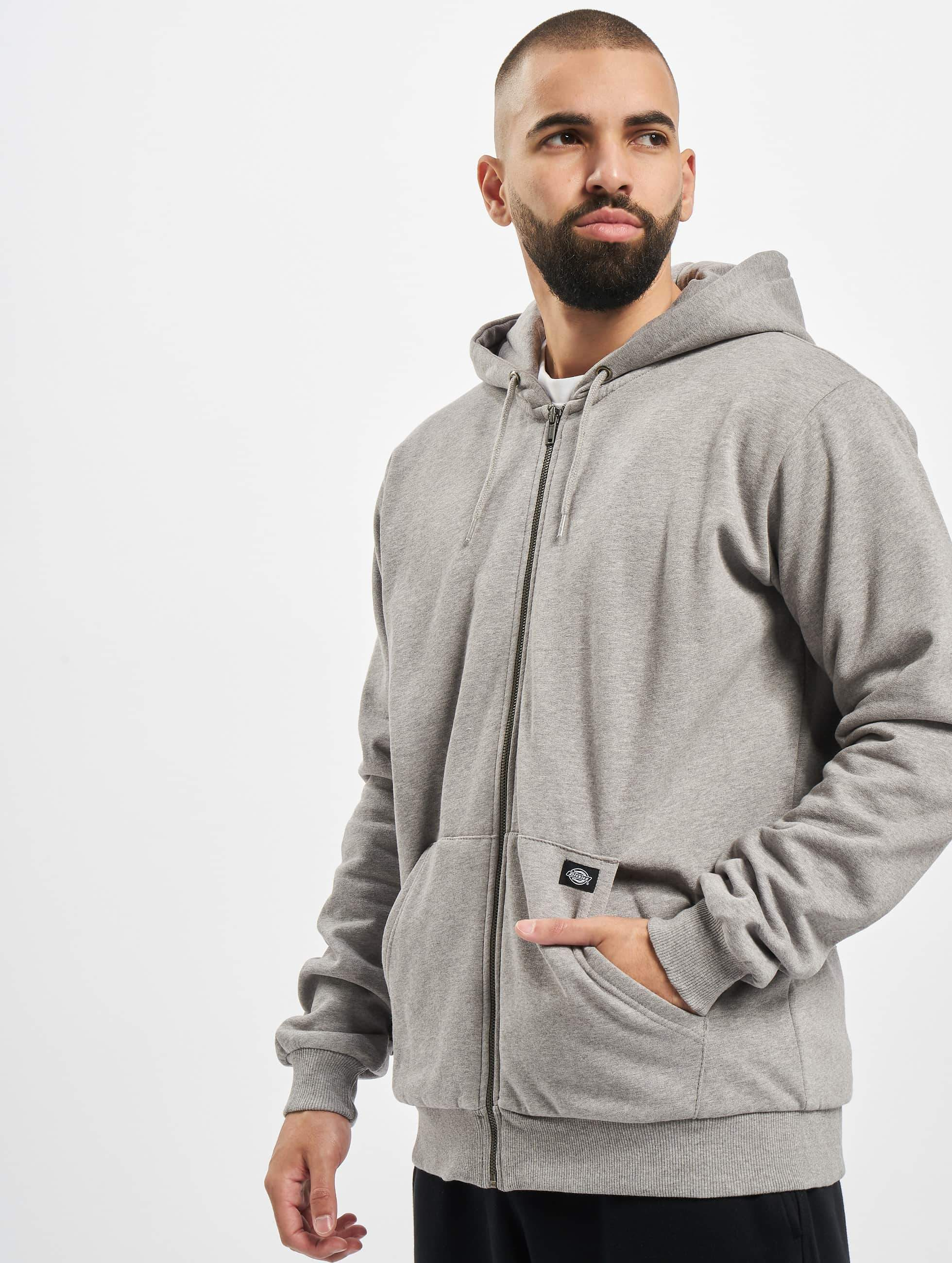 Dickies Kingsley Zip Hoody Grey Melange