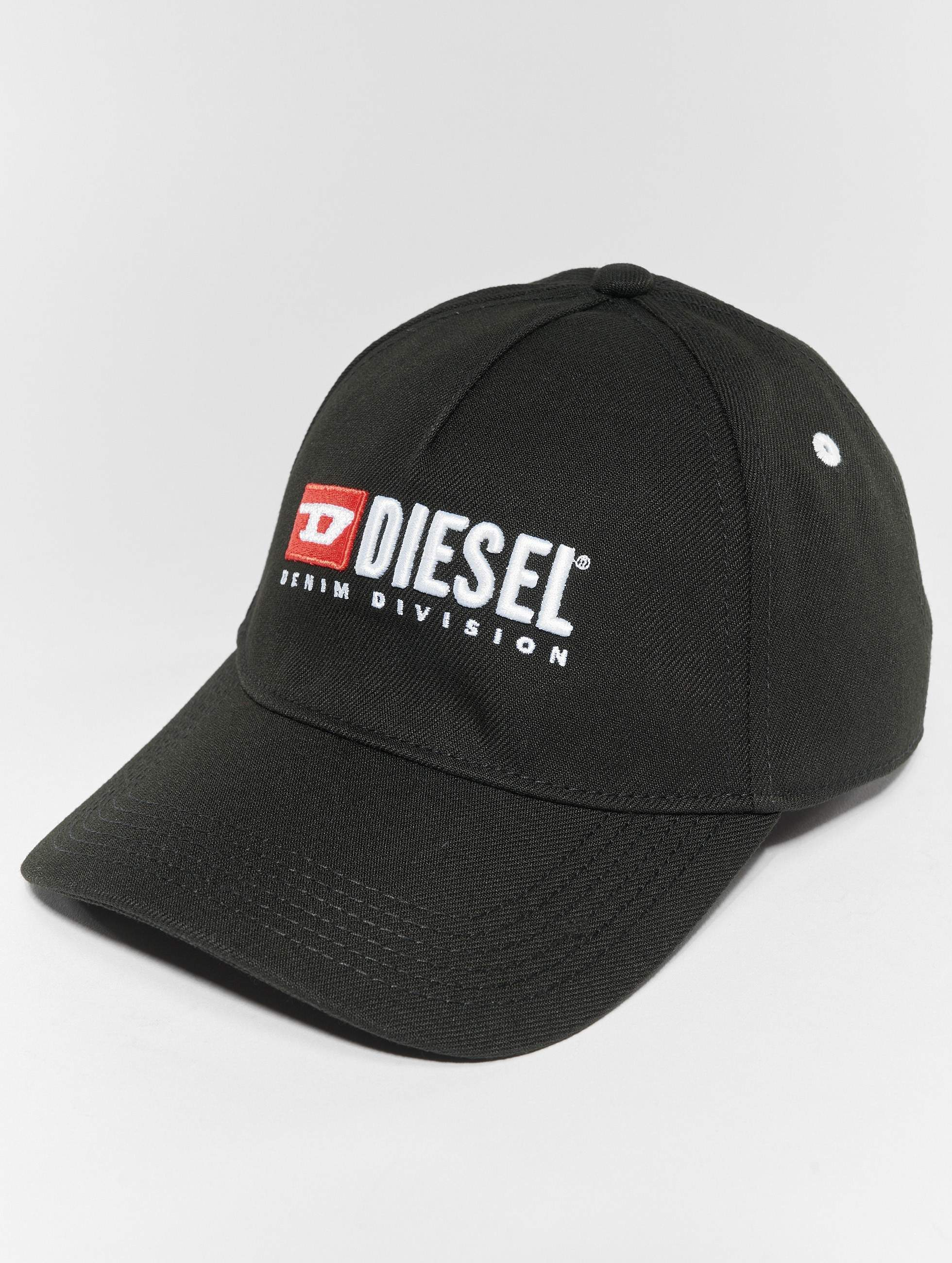 diesel snapback cap cakerym max in schwarz 533575. Black Bedroom Furniture Sets. Home Design Ideas