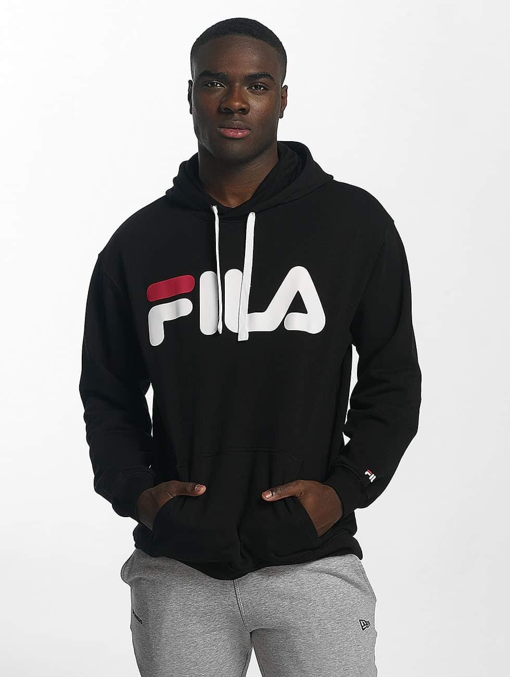 FILA Urban Line Classic Logo Hoody Black