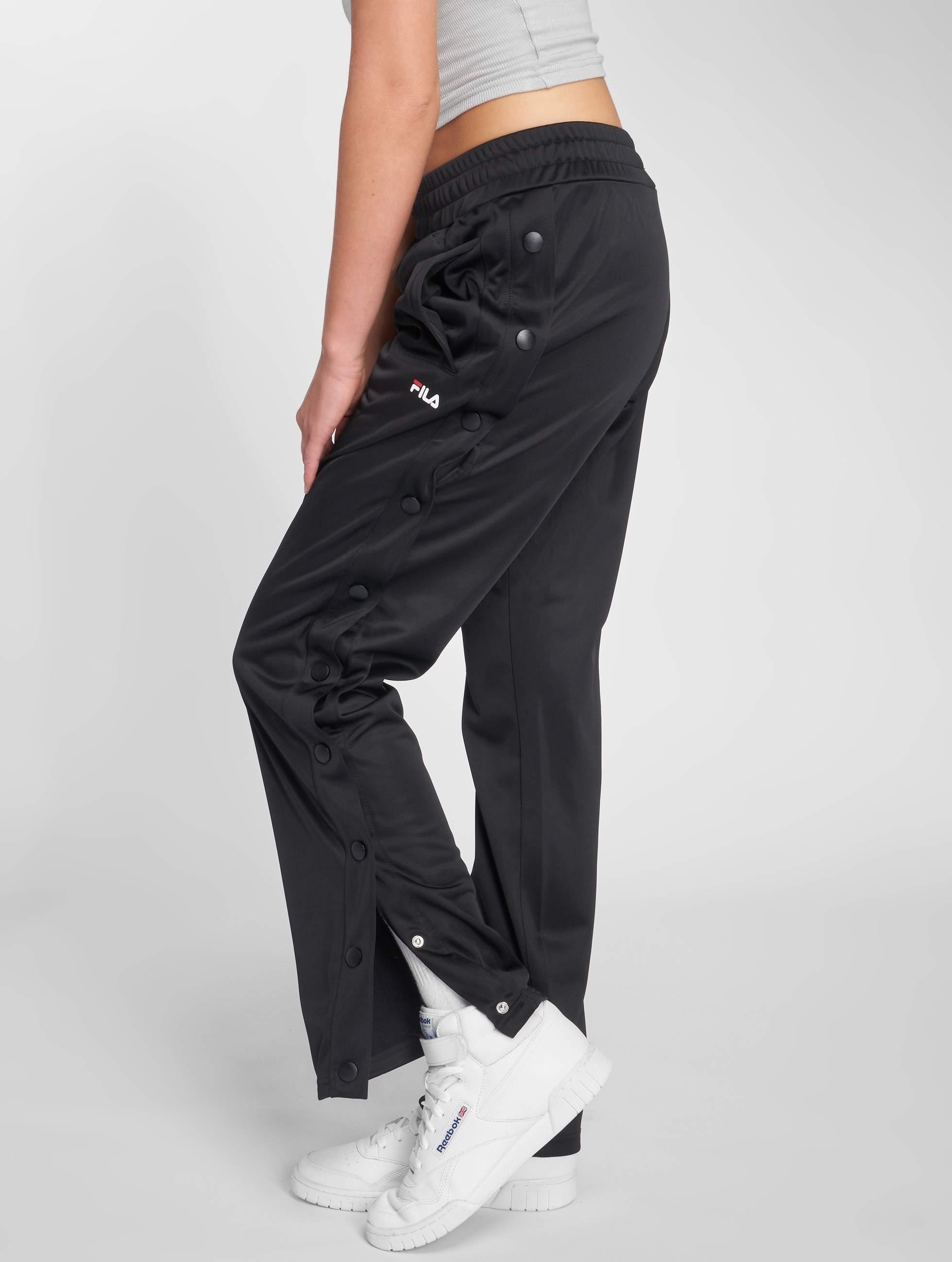 FILA Urban Line Geralyn Button Pants Black