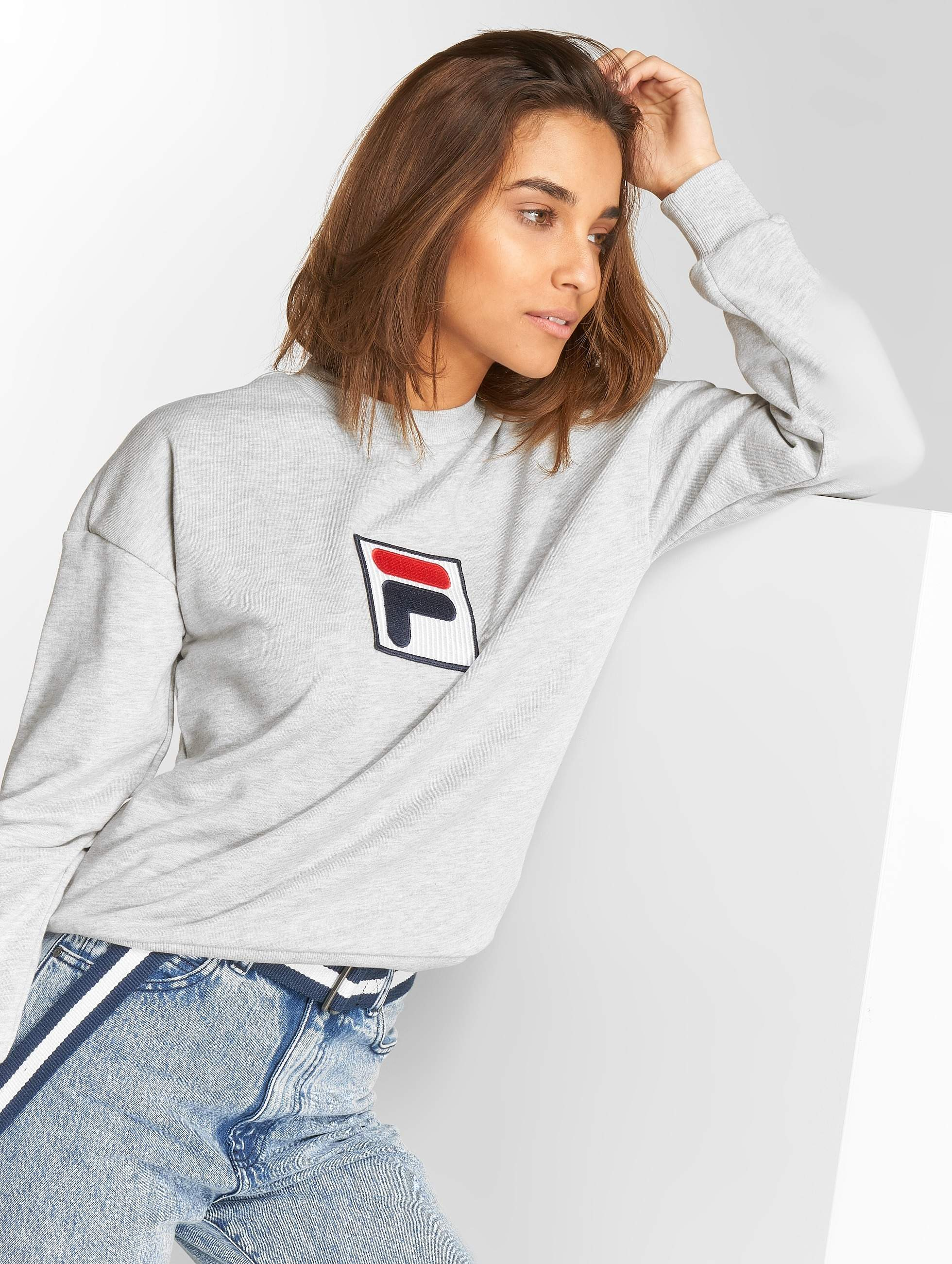 FILA Urban Line Erika 2.0 Sweatshirt Light Grey Melange Bros