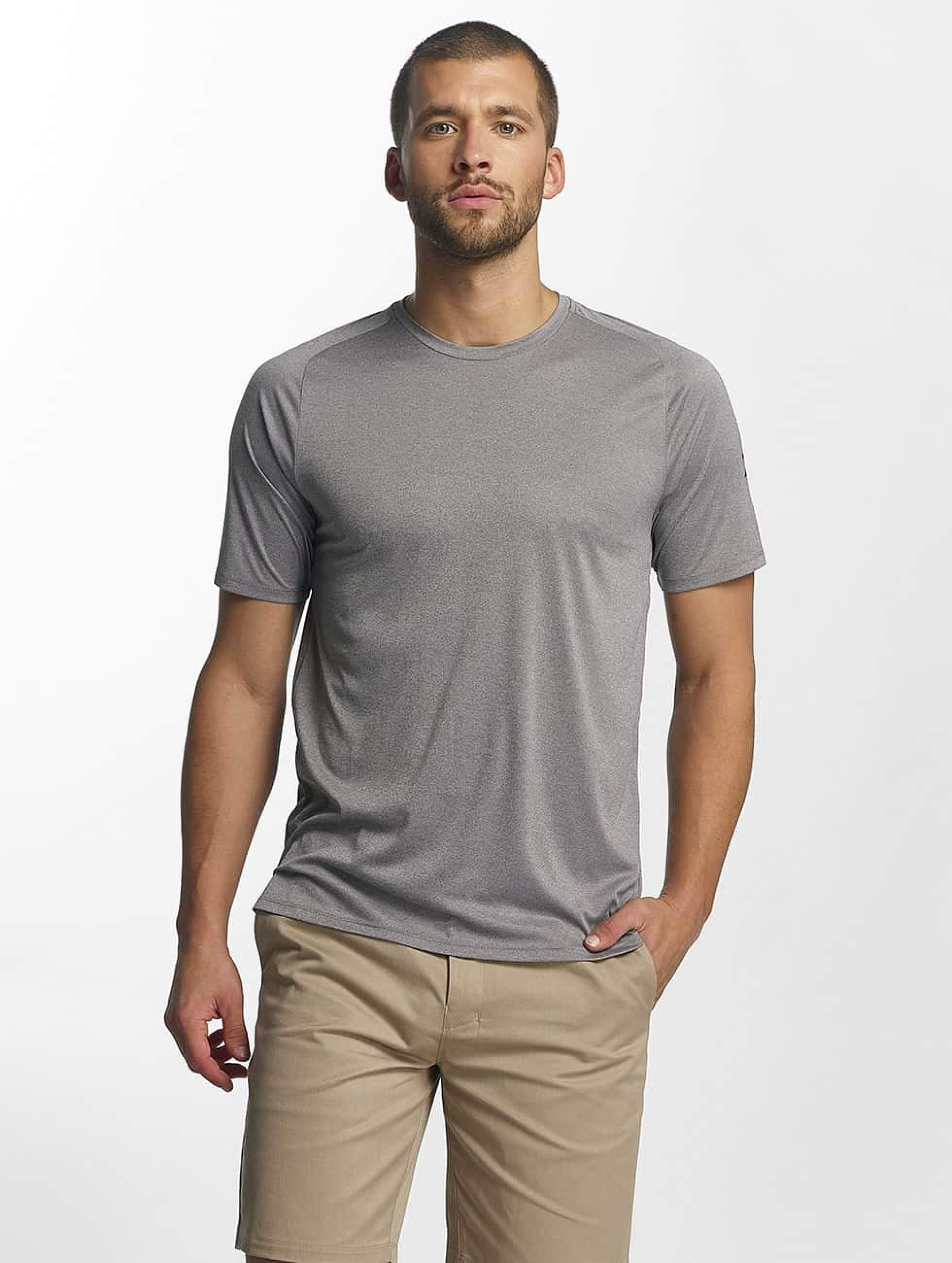 Hurley Icon Quick Dry T Shirt Cool Grey Heather