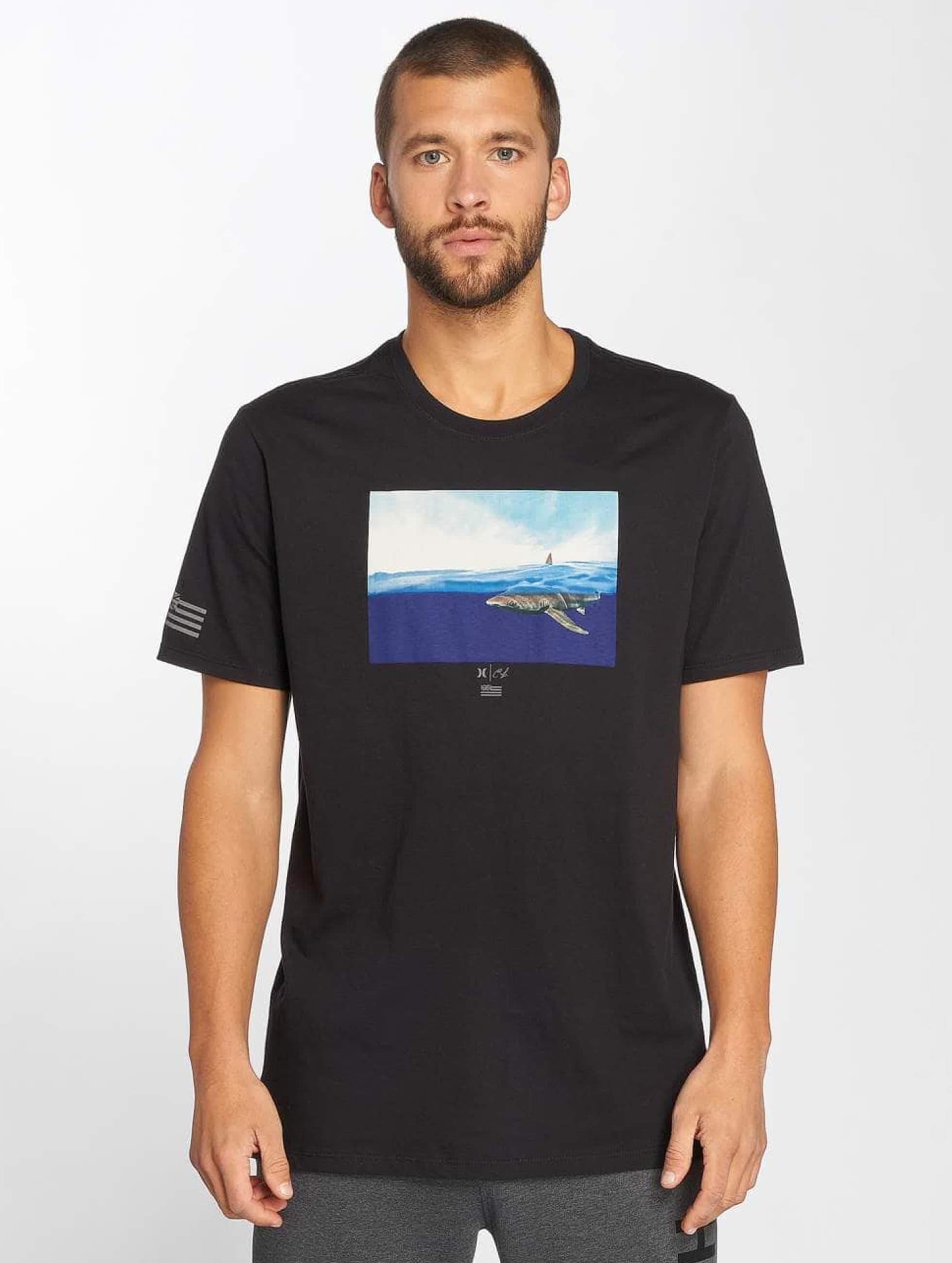 Hurley Herren T Shirt Premium Clark Week In Schwarz 469807