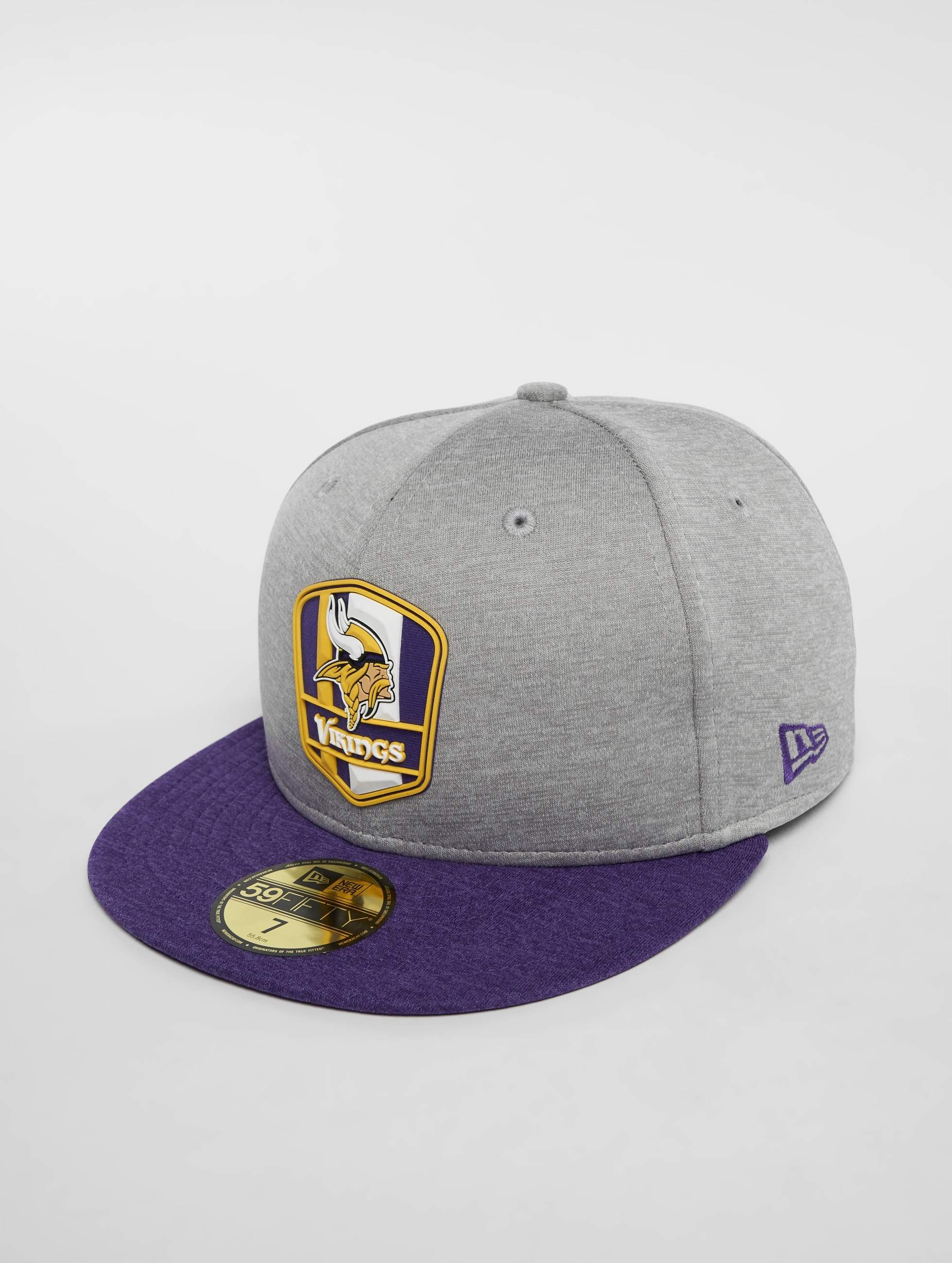 new concept e9116 62d1f New Era   NFL Minnesota Vikings 59 Fifty gris Casquette Fitted 535626