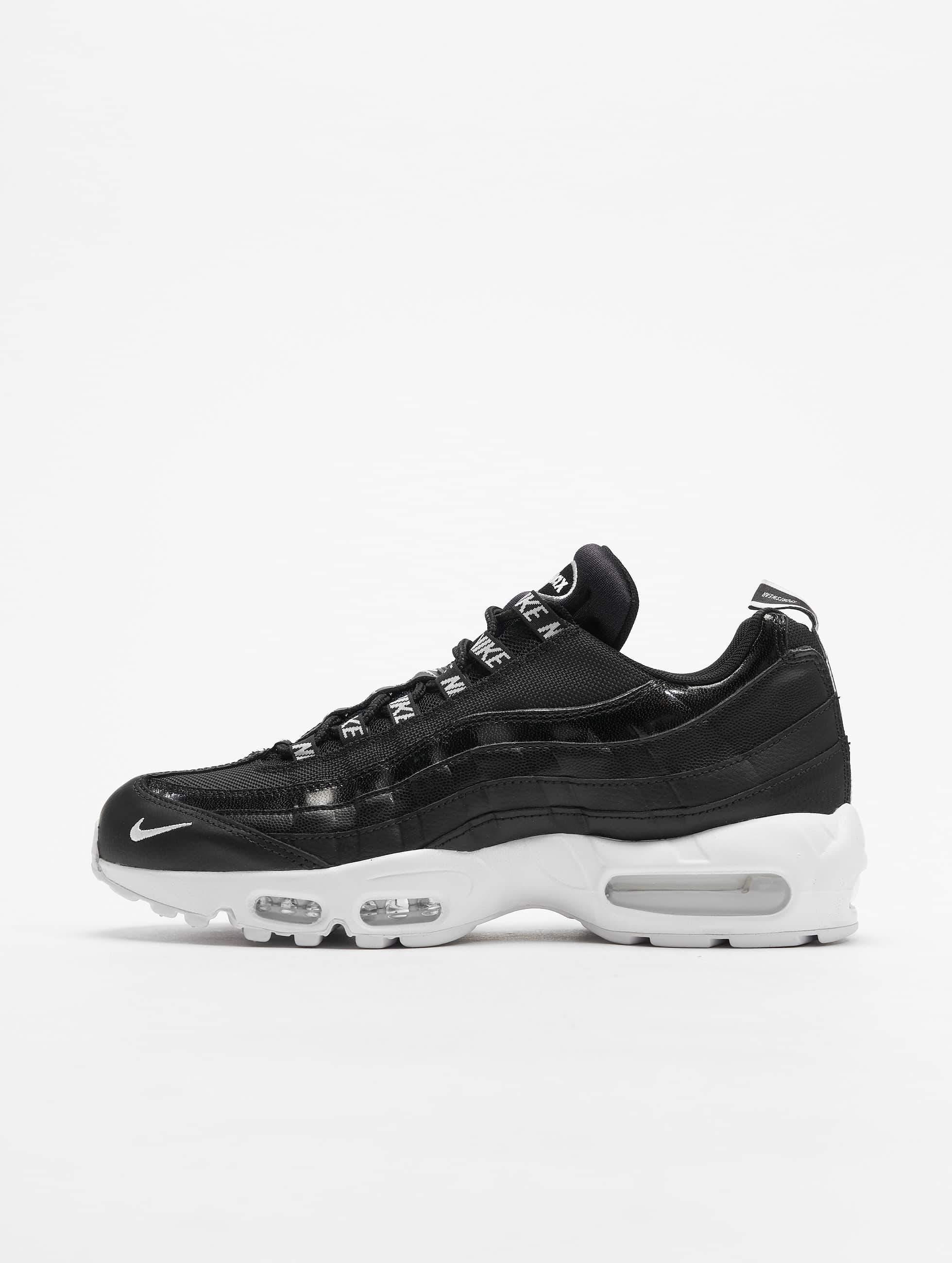 Nike Air Max 95 Premium Sneakers BlackWhiteBlack