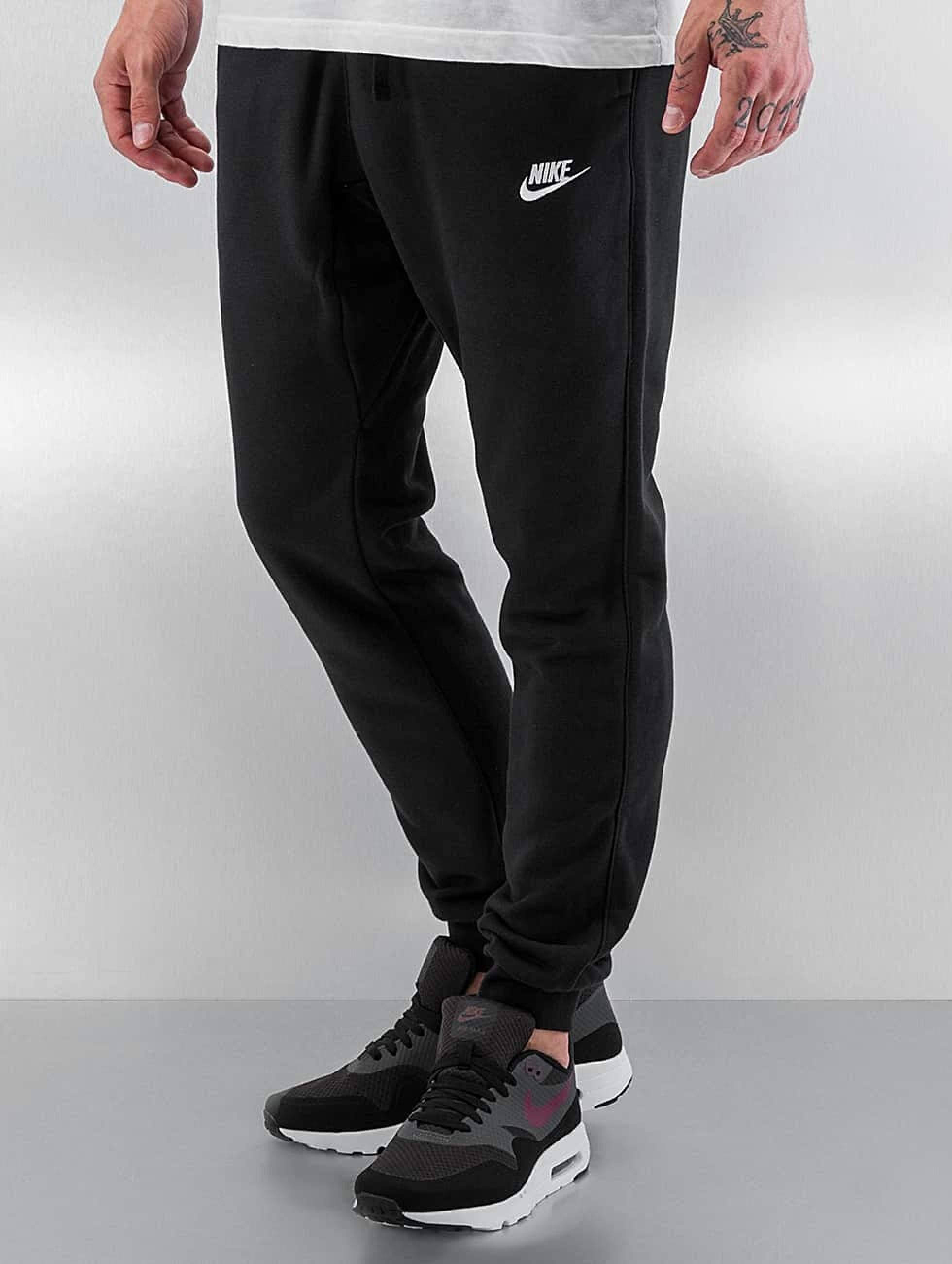 af14b64292ee9 Nike Herren Jogginghose Sportswear in schwarz 257562