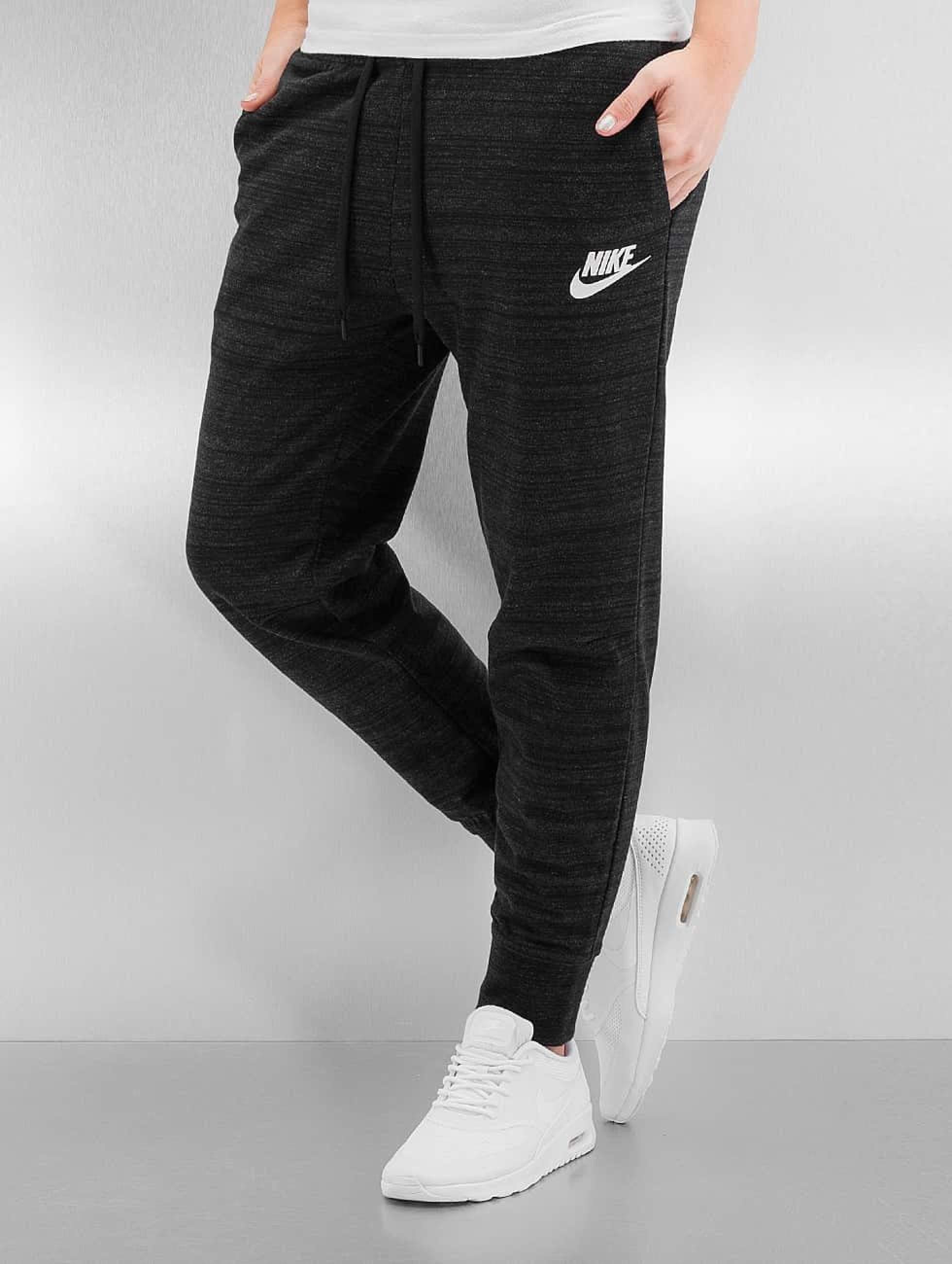c66921e119e54 Nike Damen Jogginghose W NSW AV15 in schwarz 295706