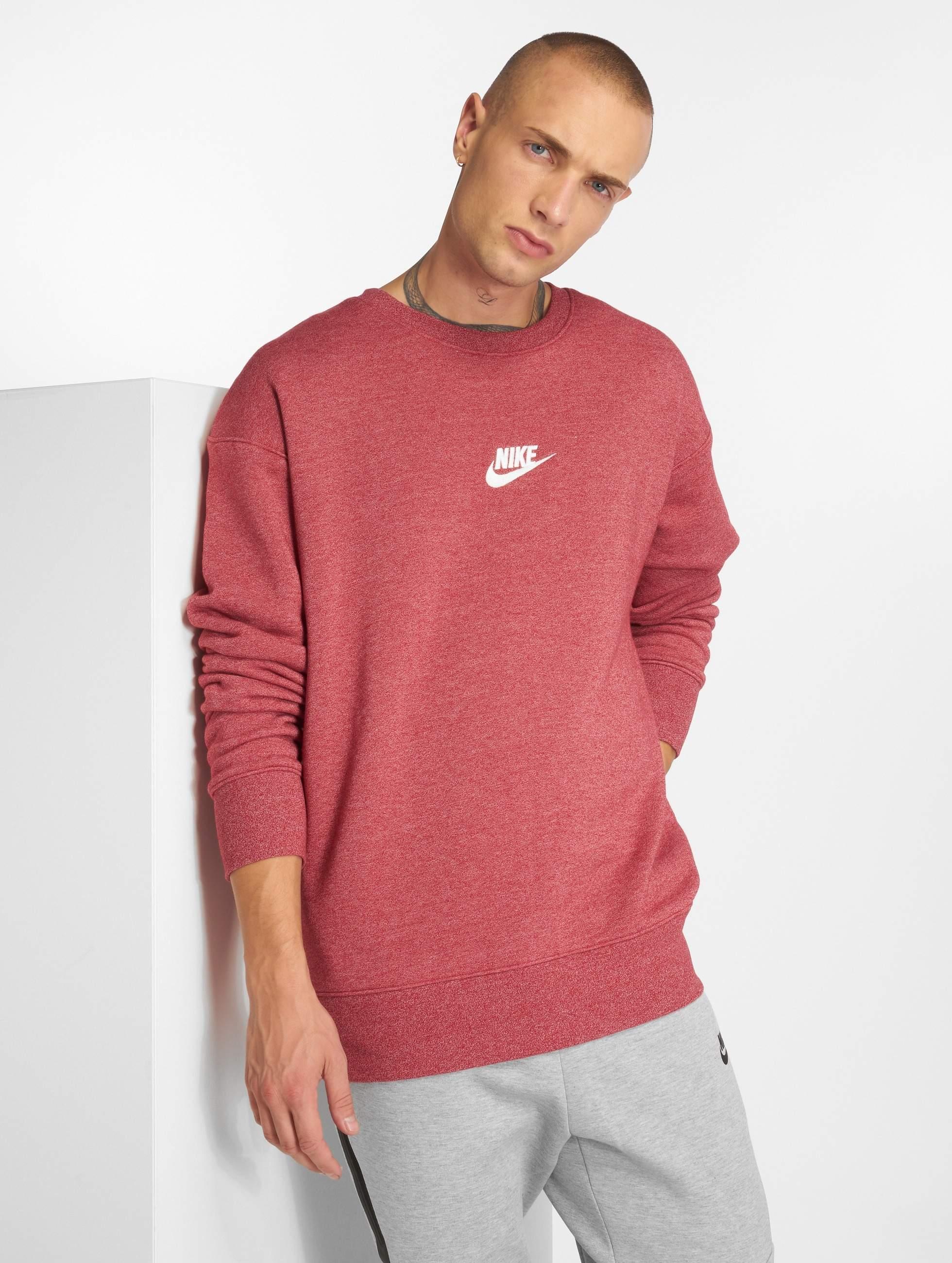 8462278a9c608 Nike Herren Pullover Sportswear Heritage in rot 500900