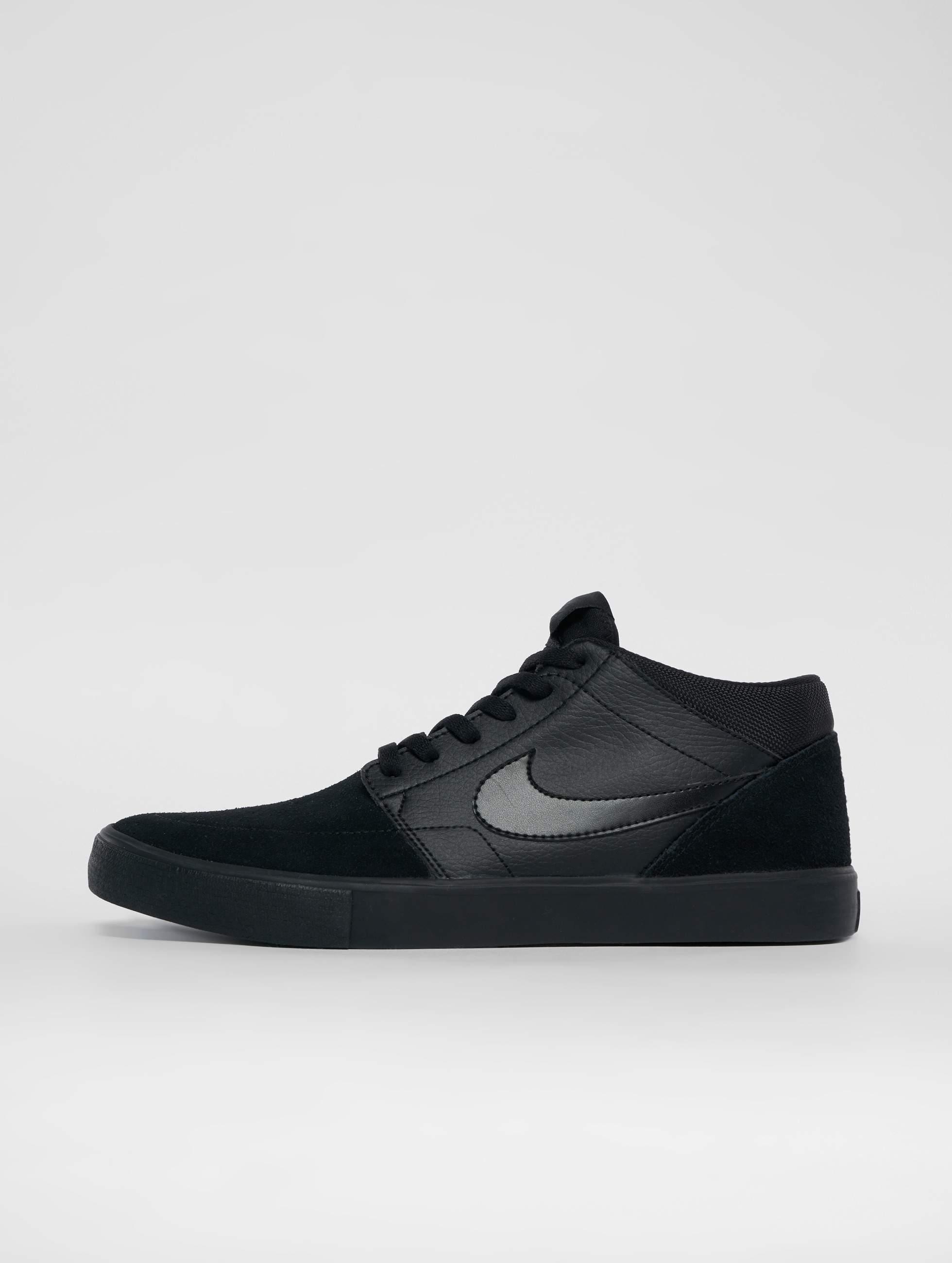 67663ce8b19 Nike SB schoen / sneaker Solarsoft Portmore Ii Mid Skateboarding in zwart  539838