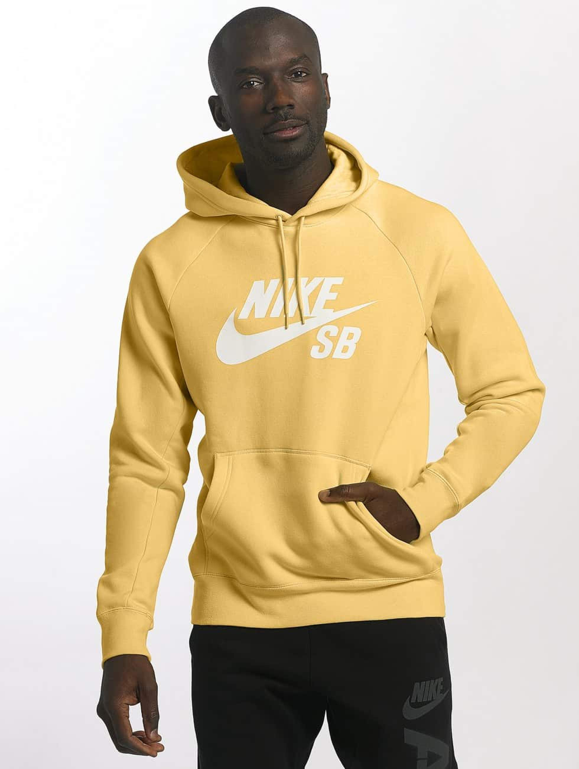 18ff6faa38 Sb Jaune Capuche Icon Sweat Homme 423217 Nike qUafSx