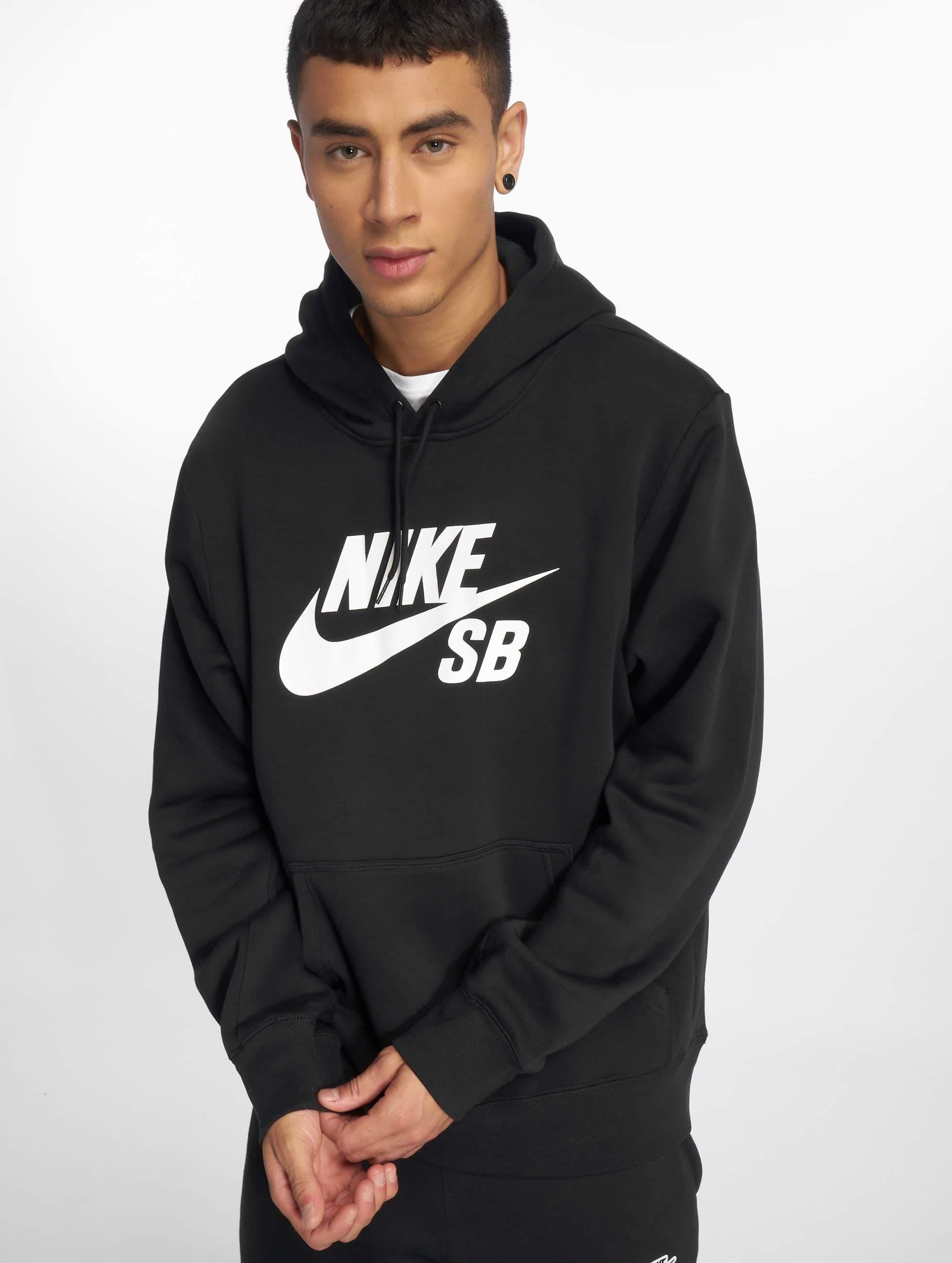 Nike SB Icon Hoody BlackWhite