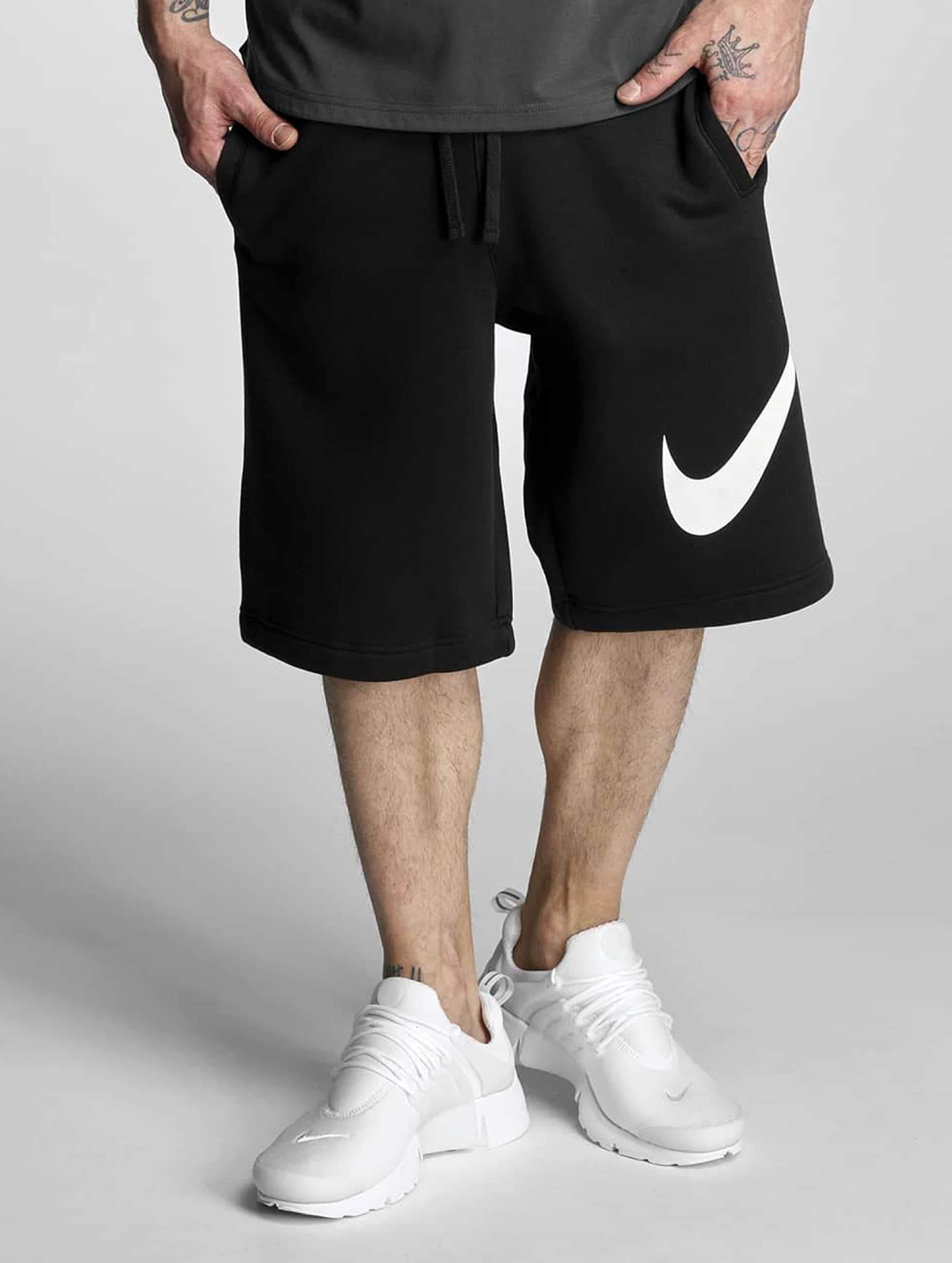 Nike FLC EXP Club Shorts BlackWhite