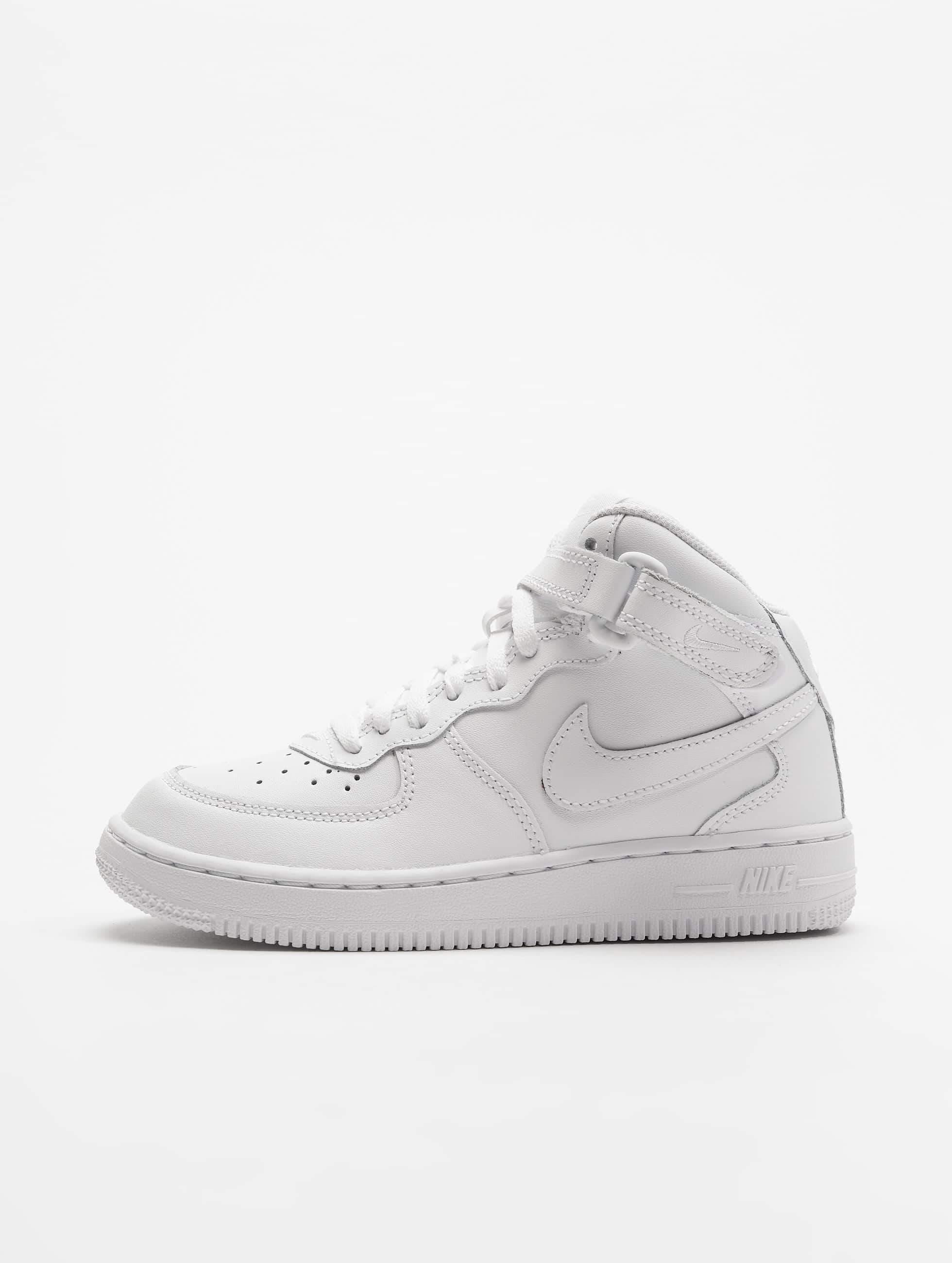 cc80539df5b Nike schoen / sneaker Force 1 Mid PS in wit 540717