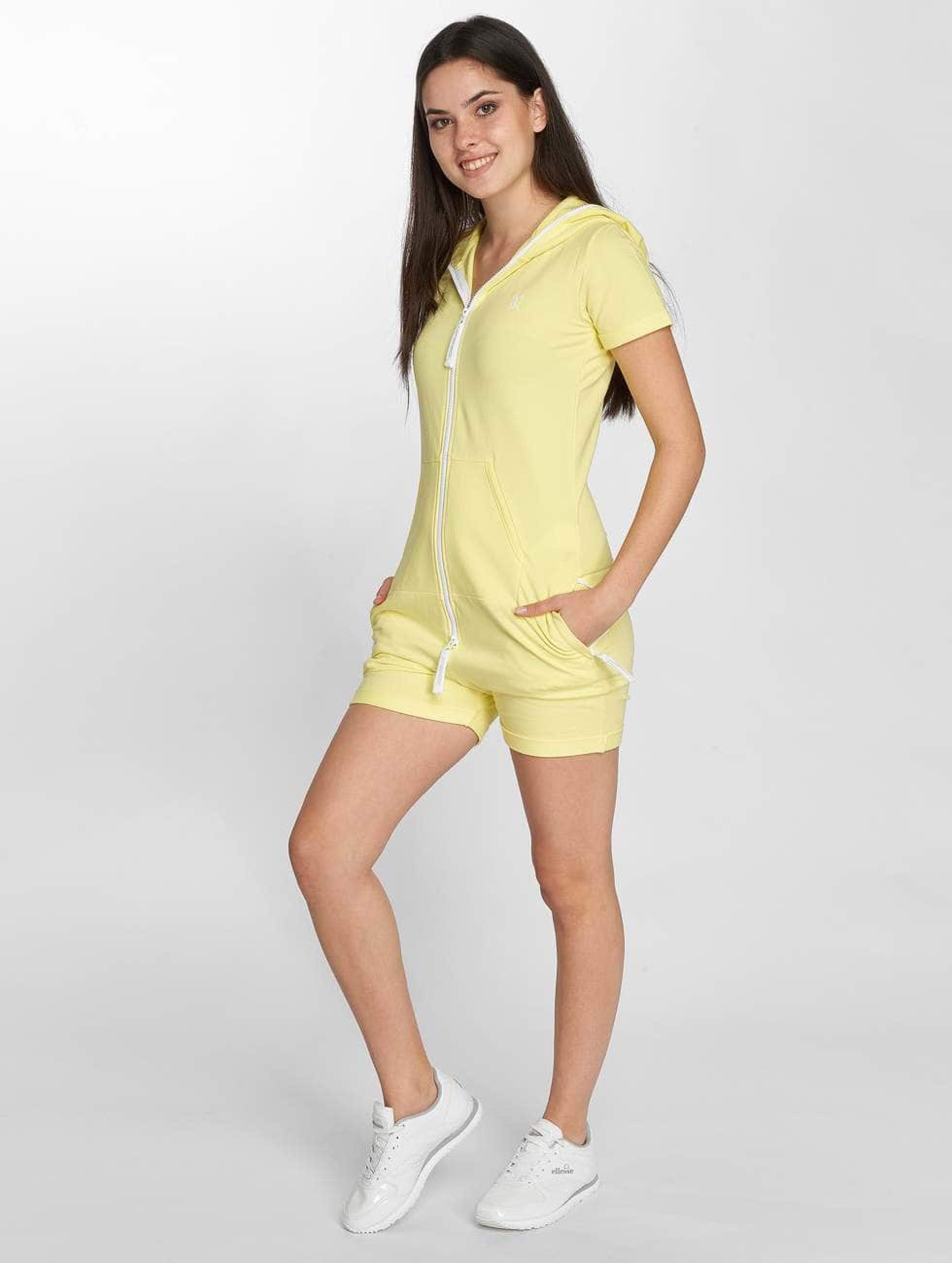 One piece Fitted Short Combinaison Femme