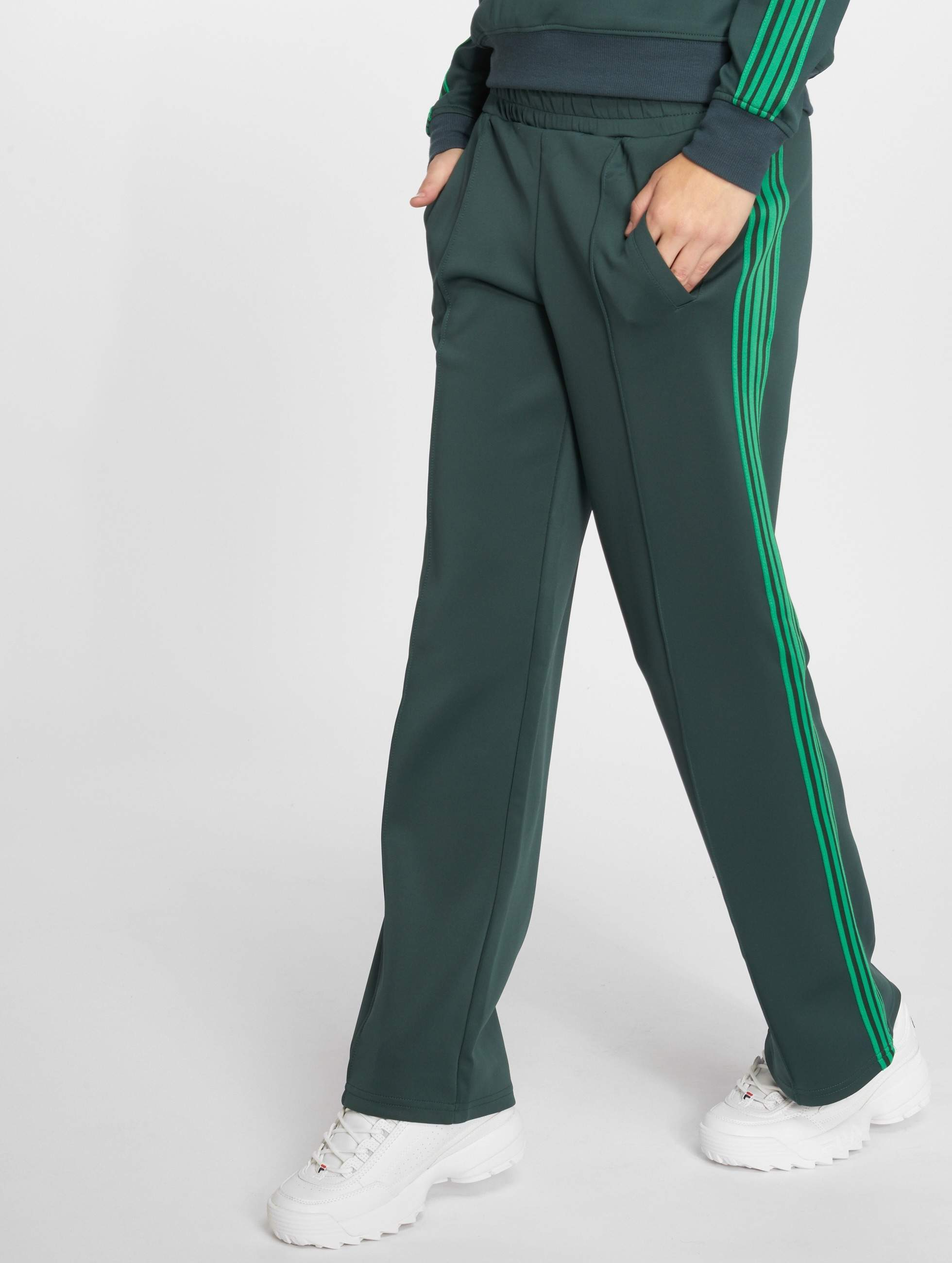 Joggingbroek Groen.Only Broek Joggingbroek Onlmisty Long In Groen 518986