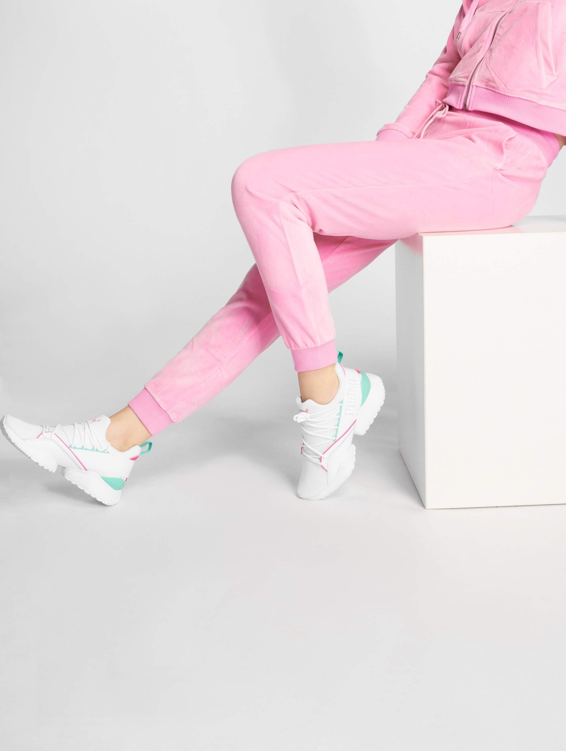Only Joggingbroek.Only Broek Joggingbroek Onlkalisha In Pink 509362