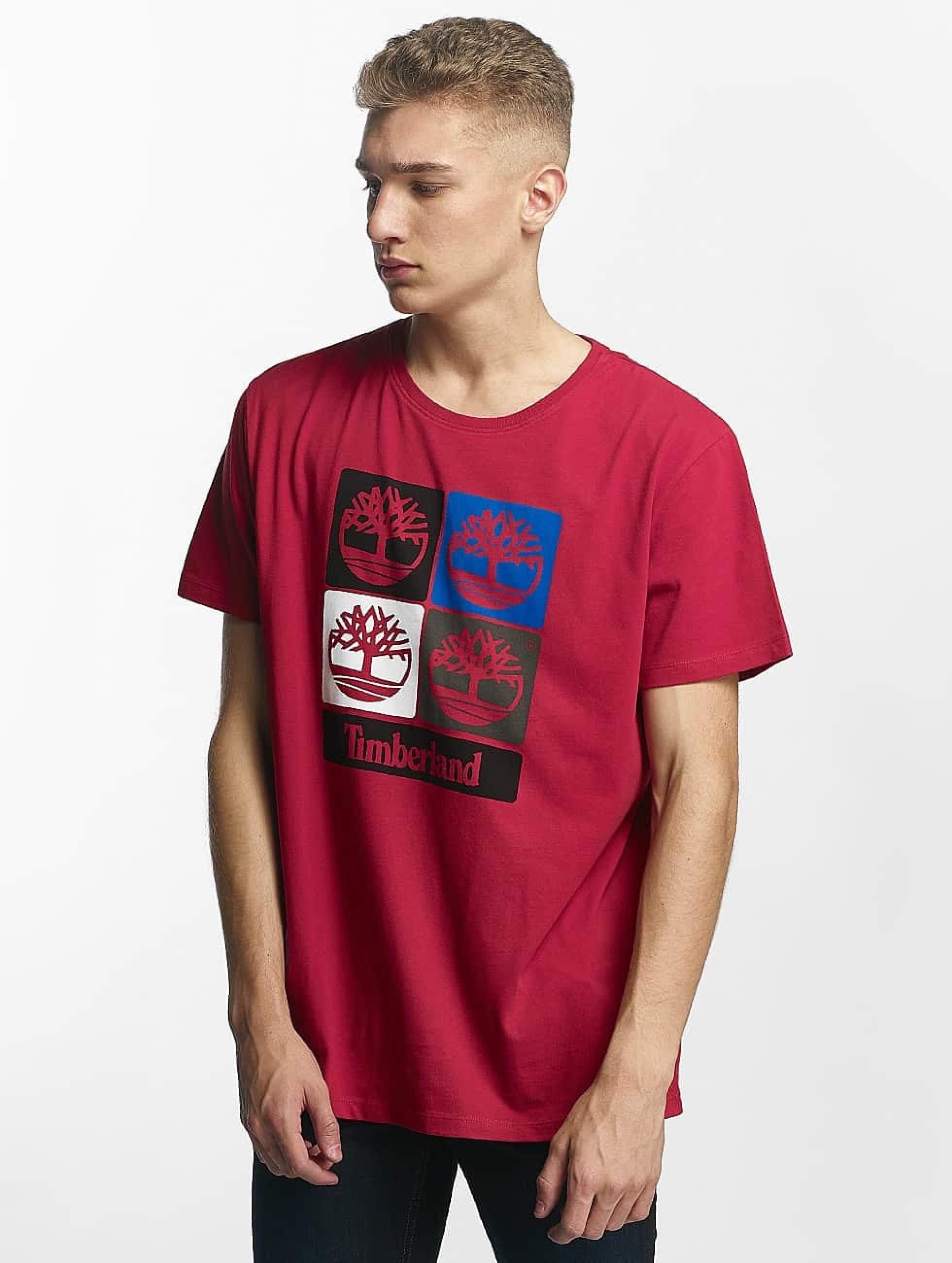 b11326b79481ed Timberland bovenstuk / t-shirt 90'S Logo in rood 366633