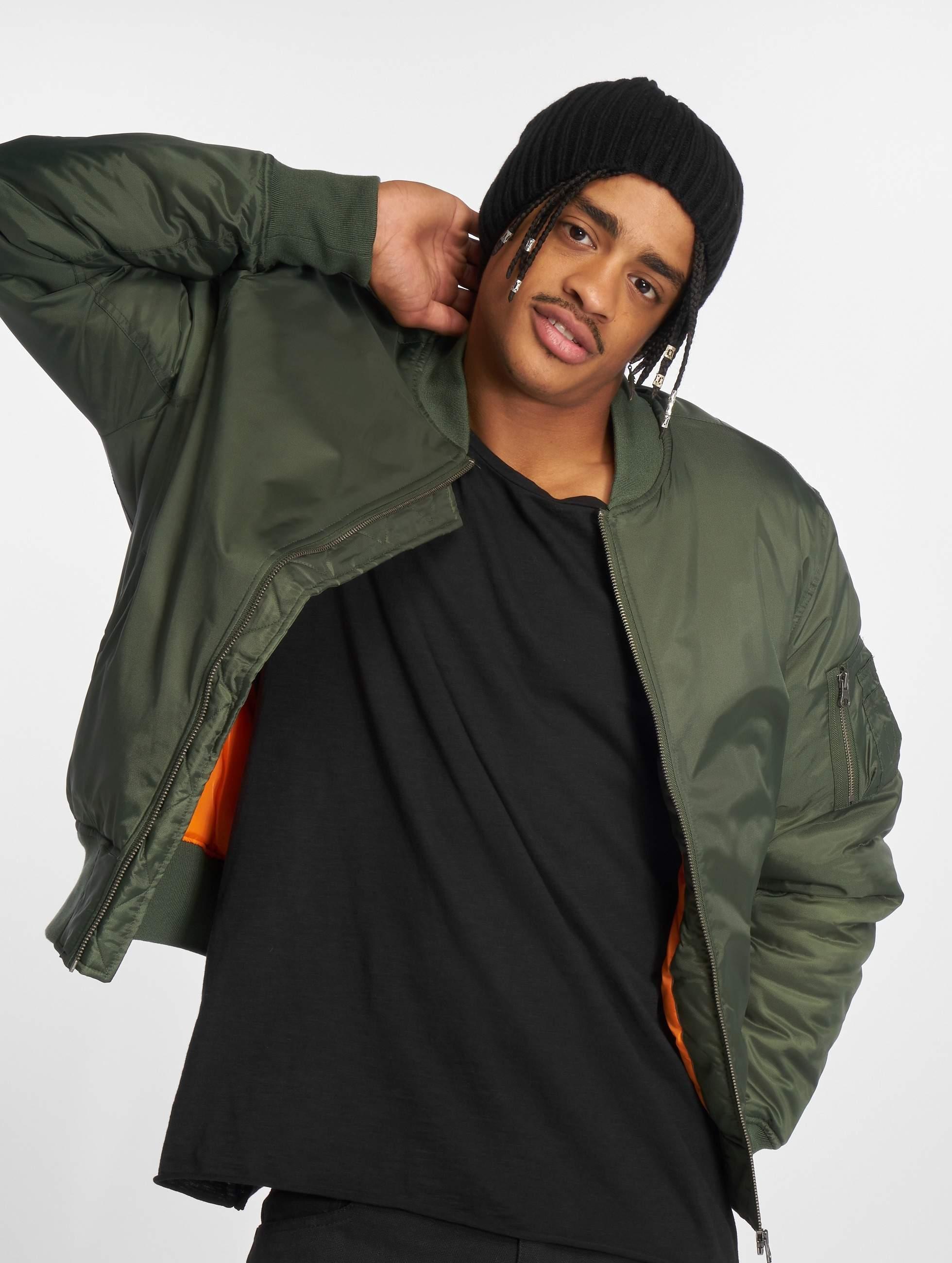 Basic Jacket Urban Classics Olive Bomber KclJ13uTF