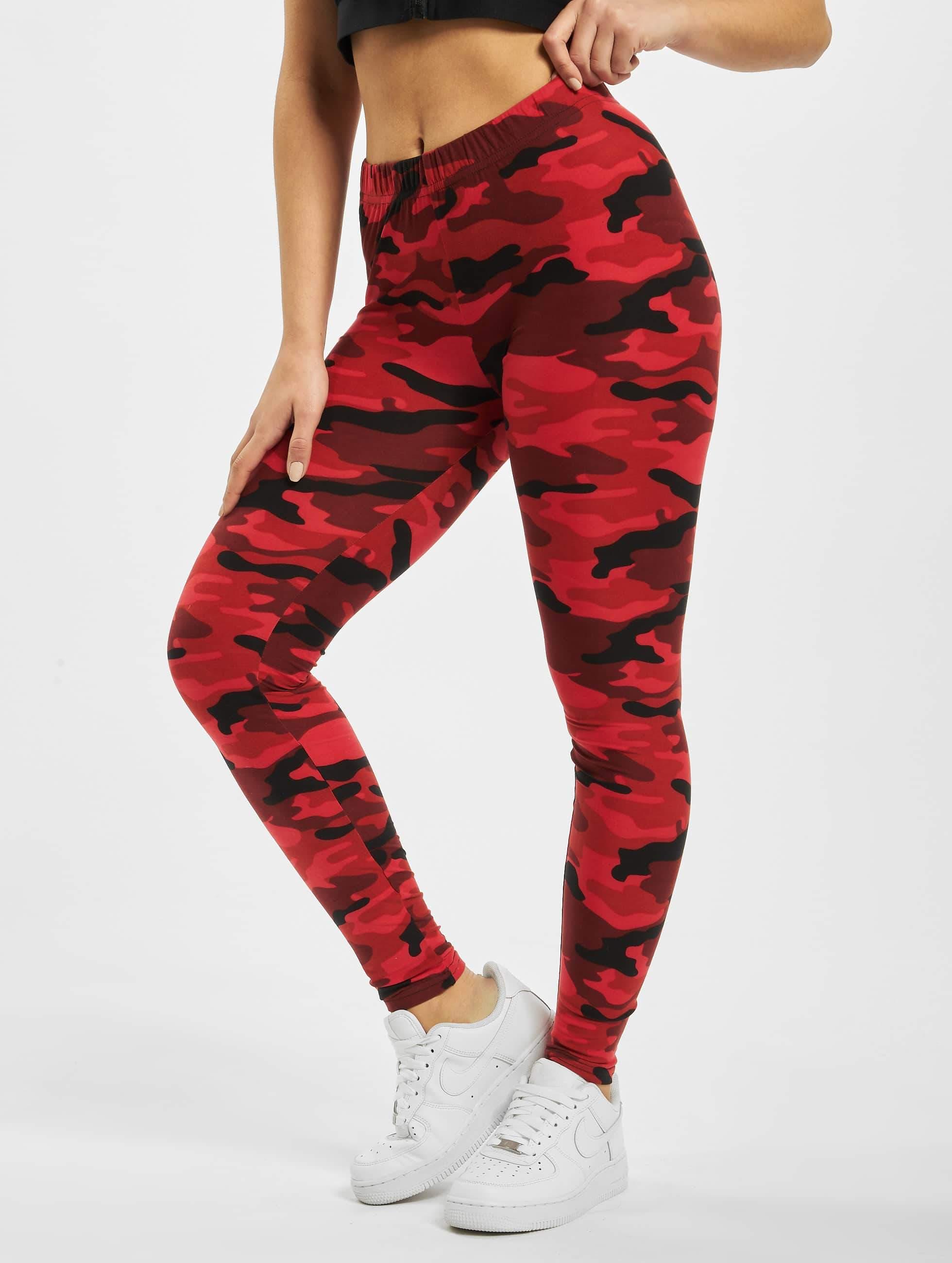 Ladies Camo Urban Red Classics Leggings rxCoeBd