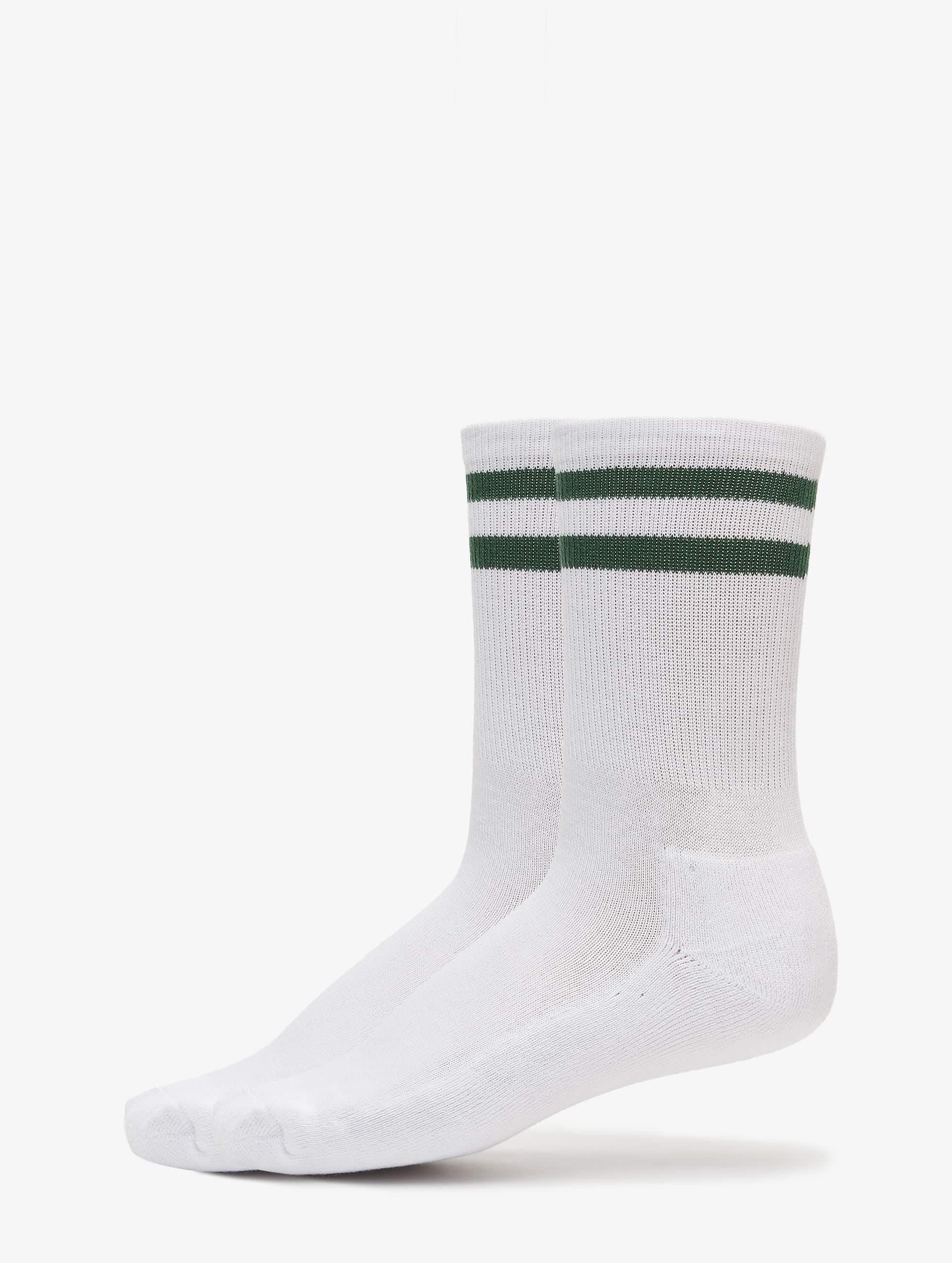Strumpor White With Stripe | madlady.se