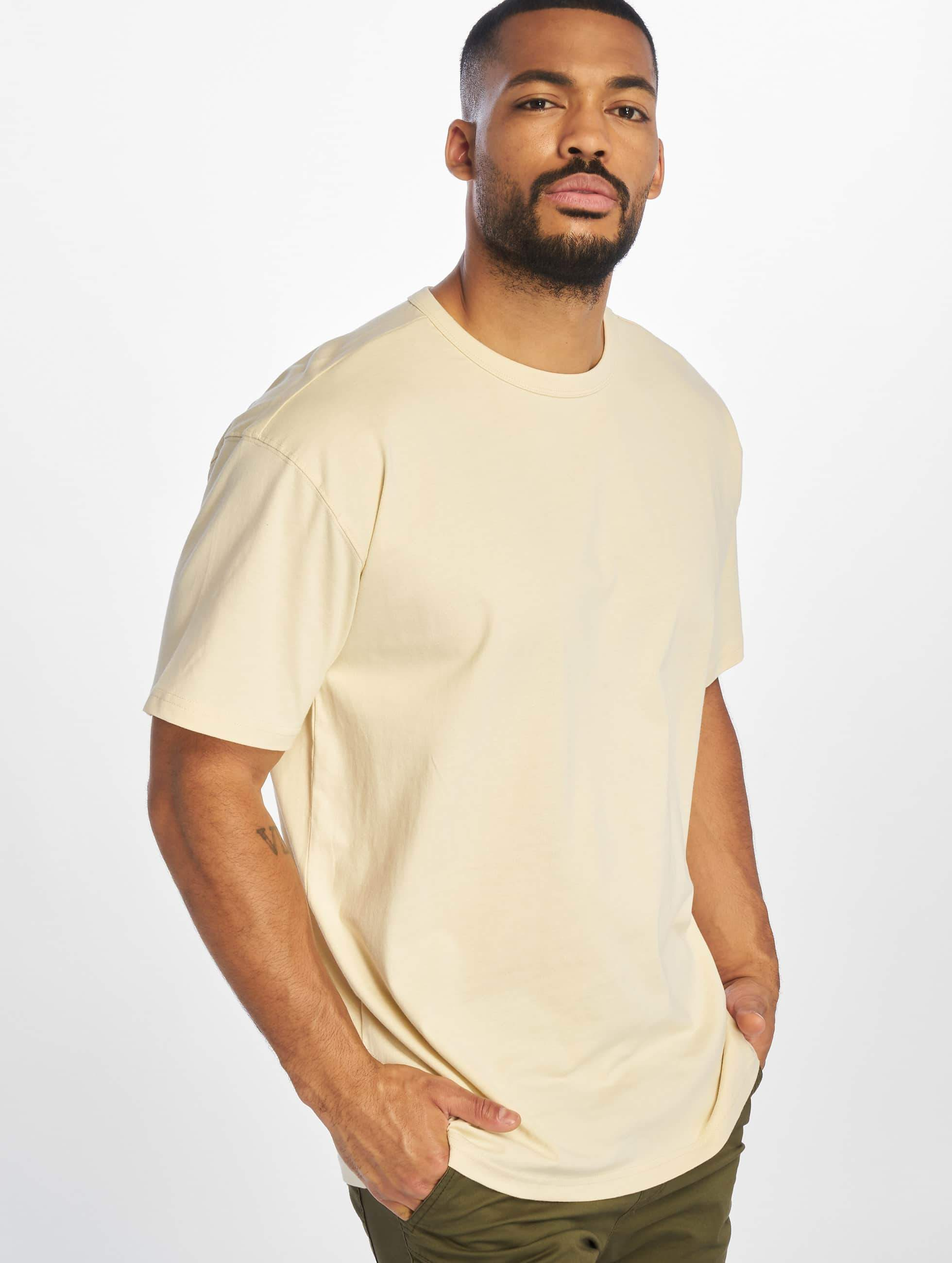 urban classics herren t shirt oversized in beige 305454. Black Bedroom Furniture Sets. Home Design Ideas