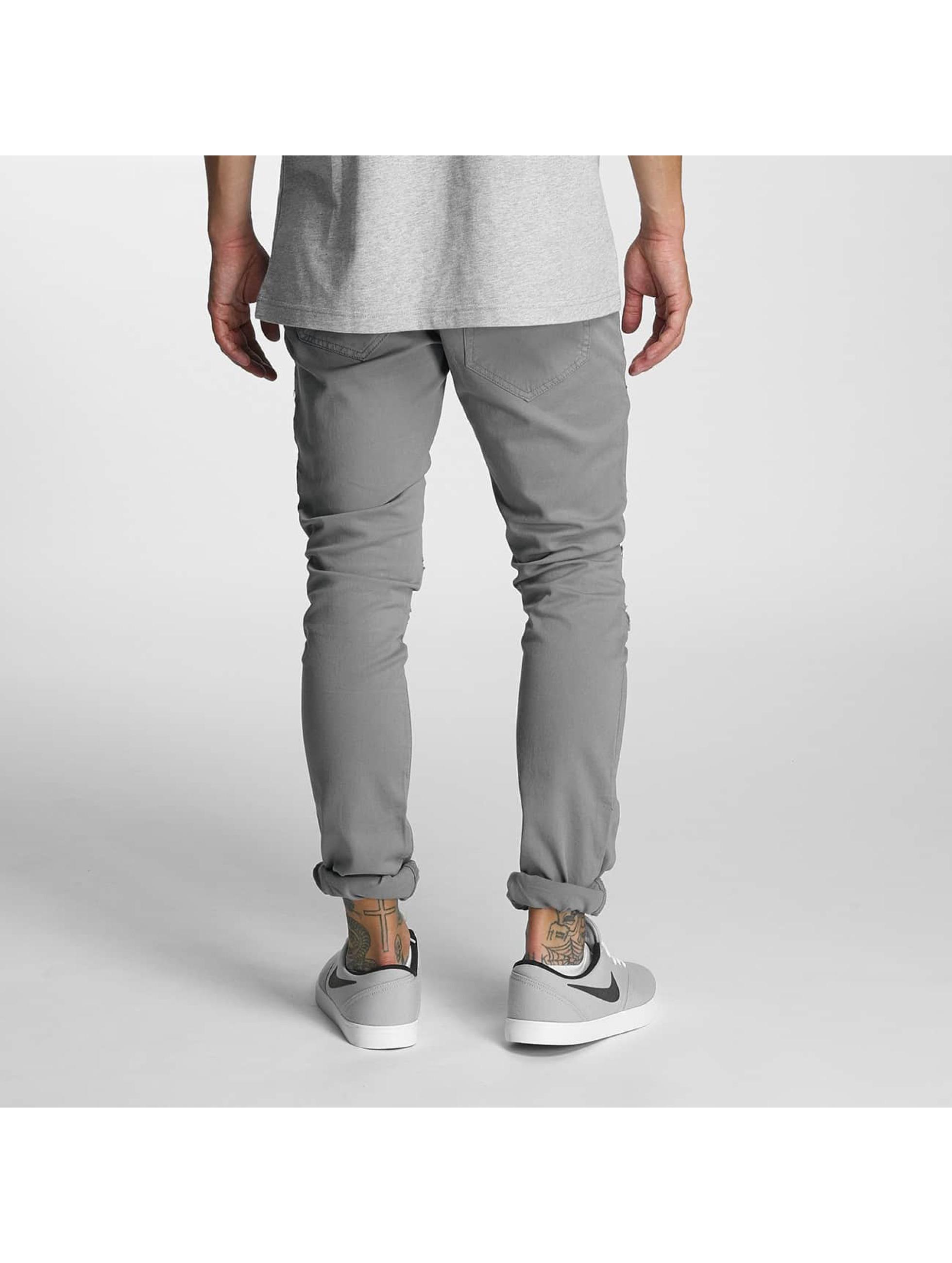 2Y Облегающие джинсы Tiron серый