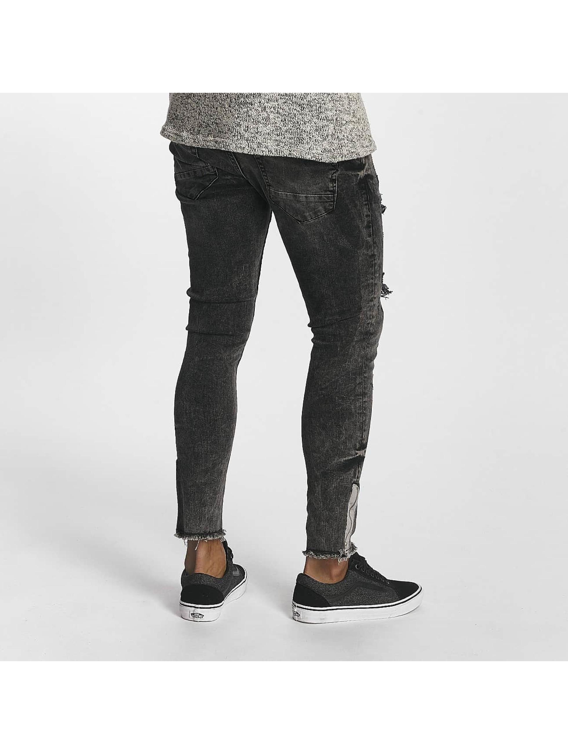 2Y Облегающие джинсы Daniel серый