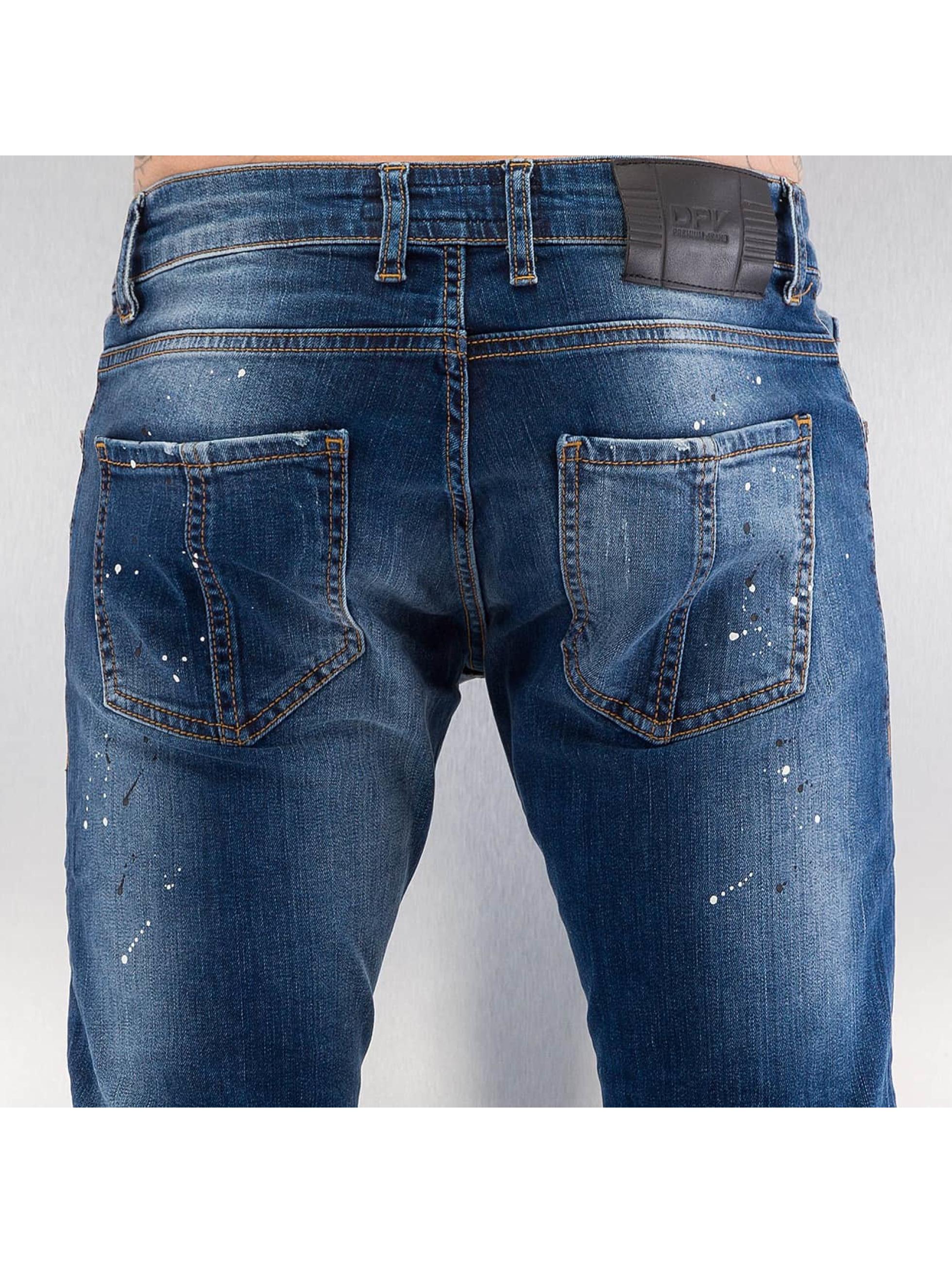 2Y Облегающие джинсы Naresh синий