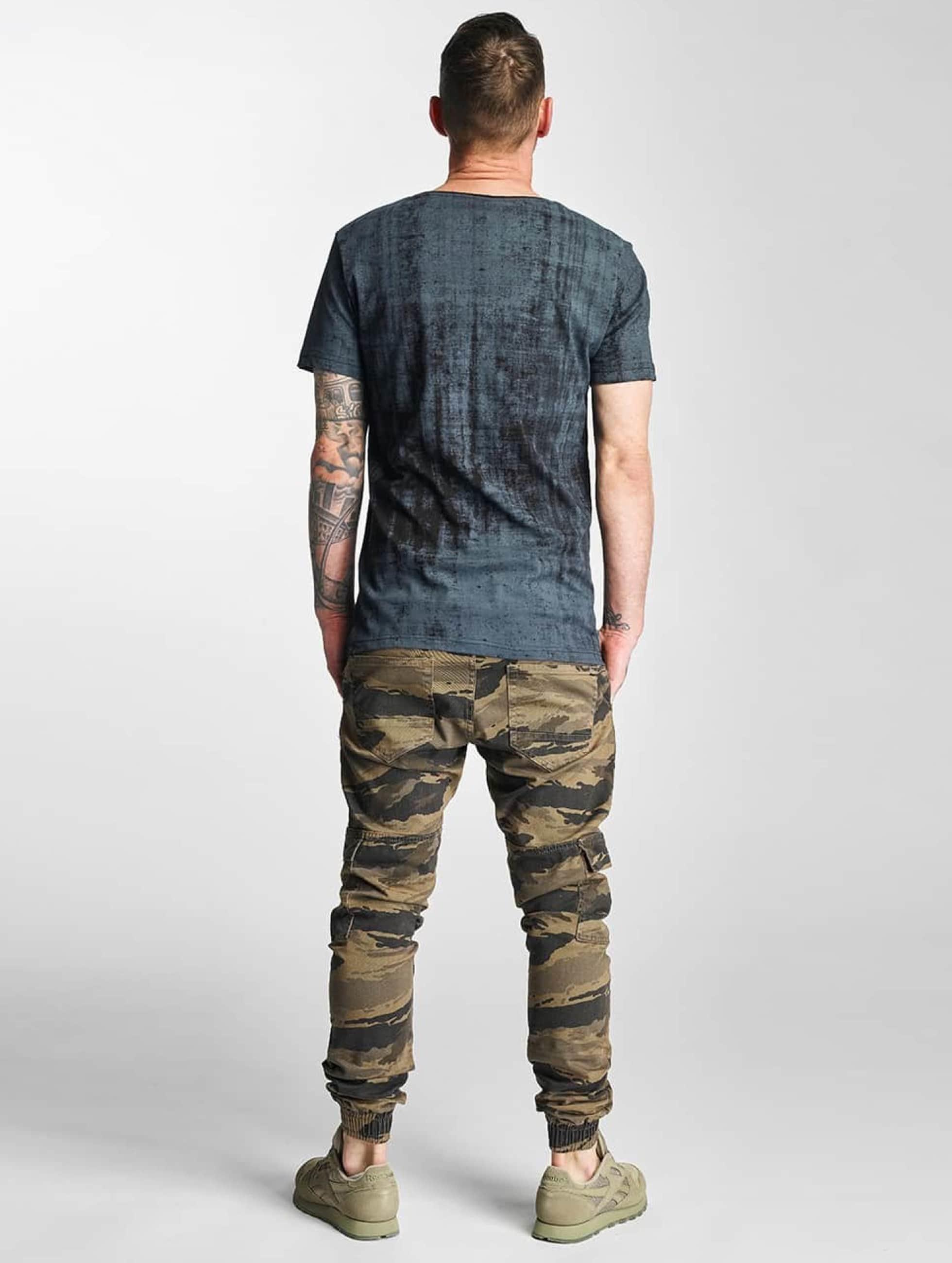 2Y Chino bukser Denim kamuflasje