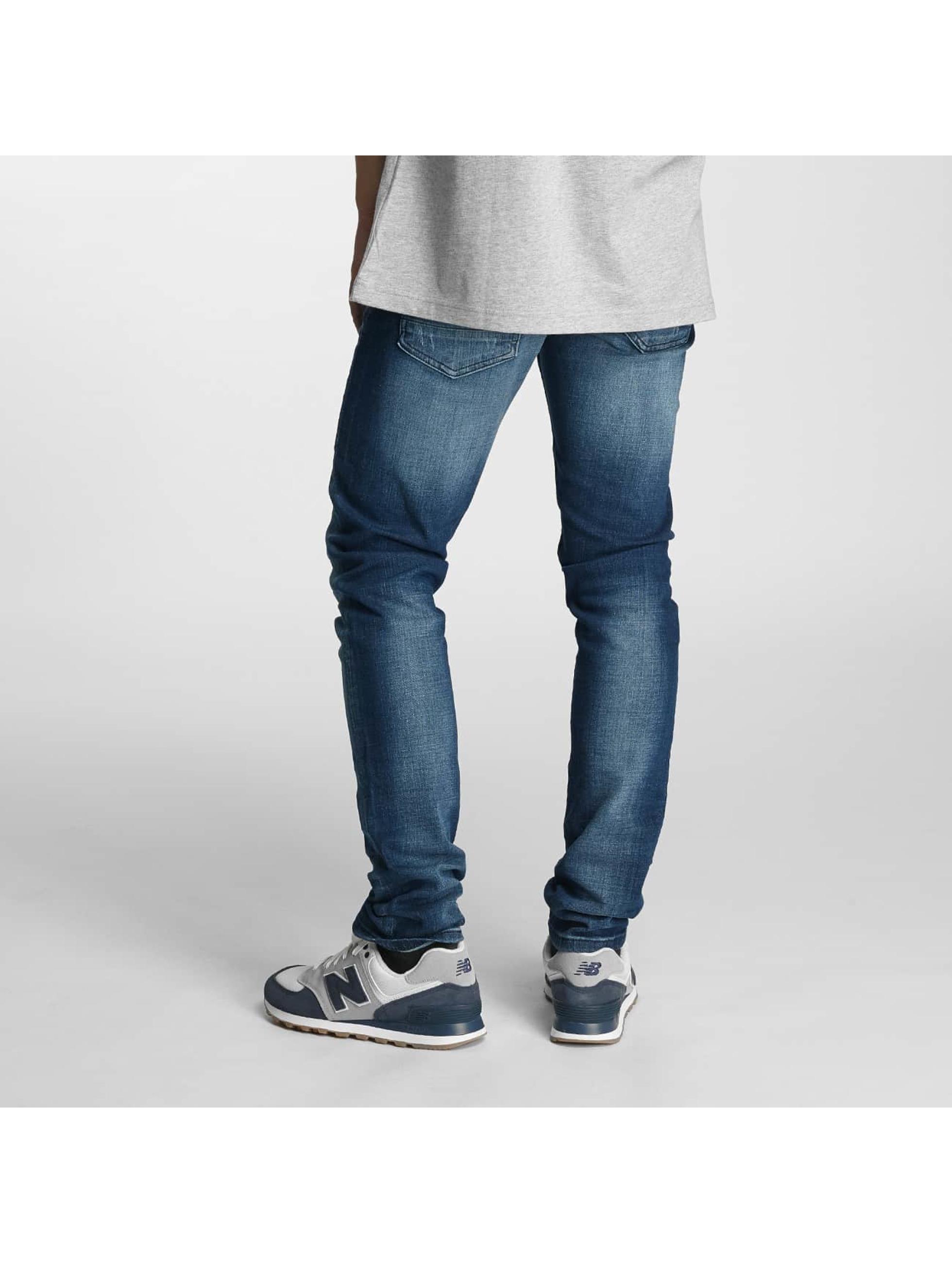 2Y Jeans ajustado Moll azul